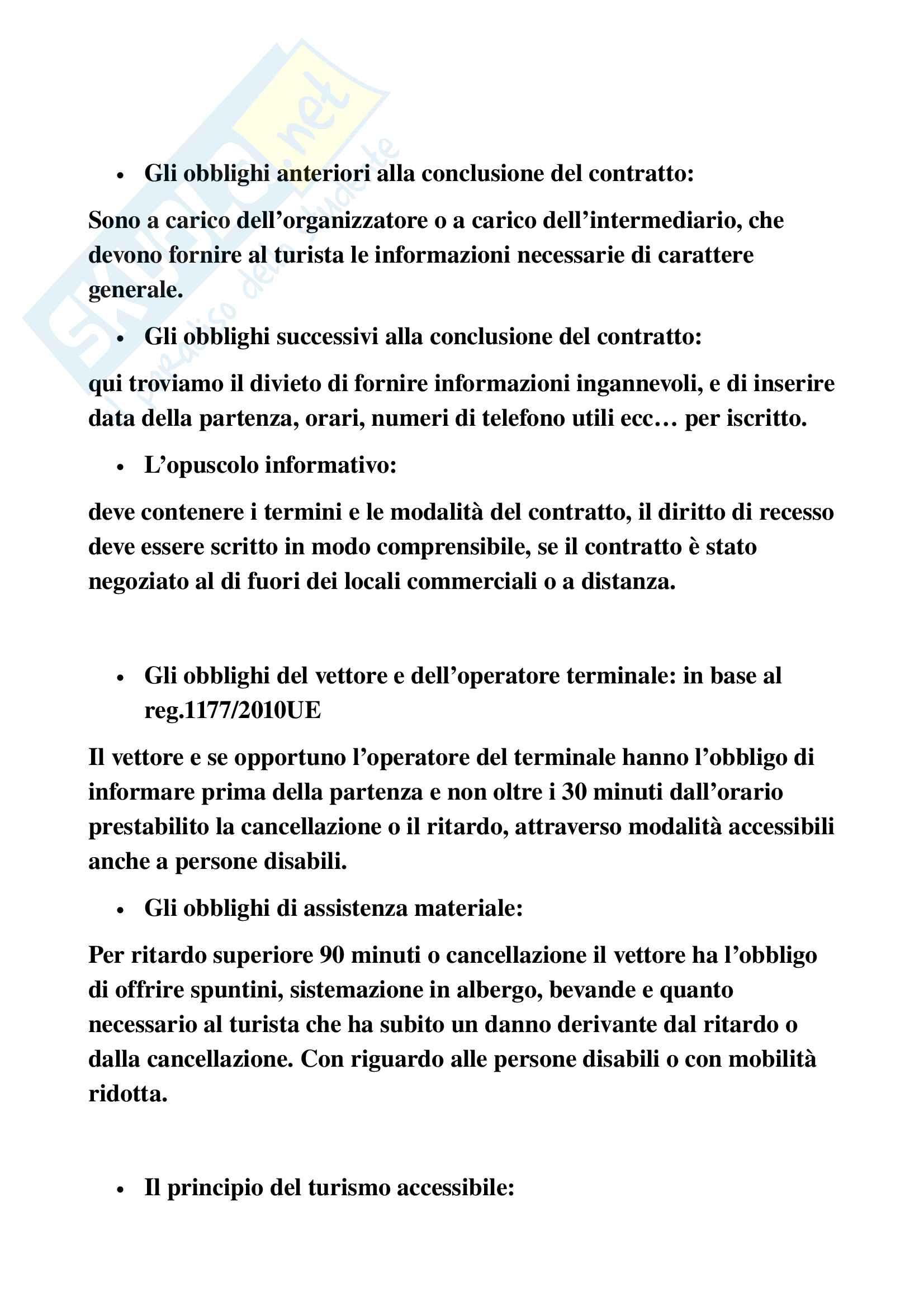 Contratti di trasporto Pag. 6