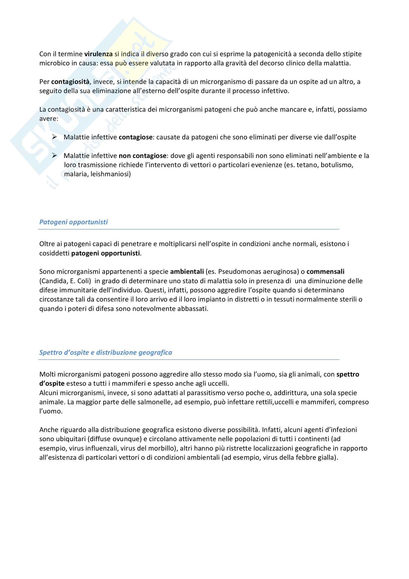 Riassunto esame Igiene, prof. Pignato, libro consigliato Igiene di Barbuti, Bellelli, Fara e Giammanco Pag. 11