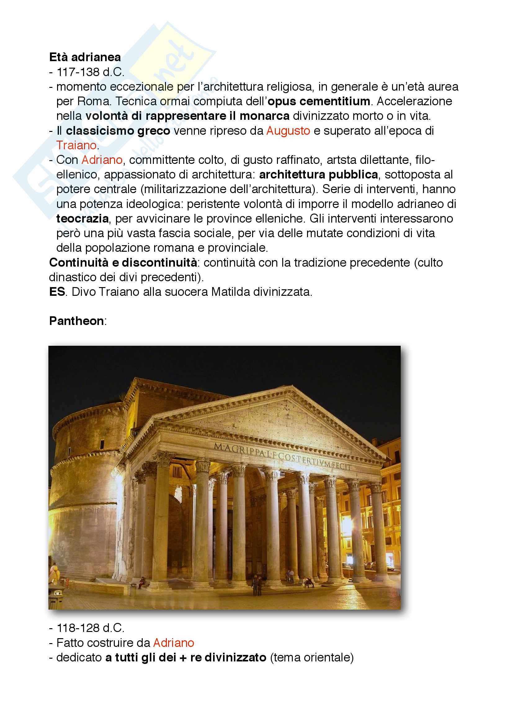 22 Età adrianea e Pantheon