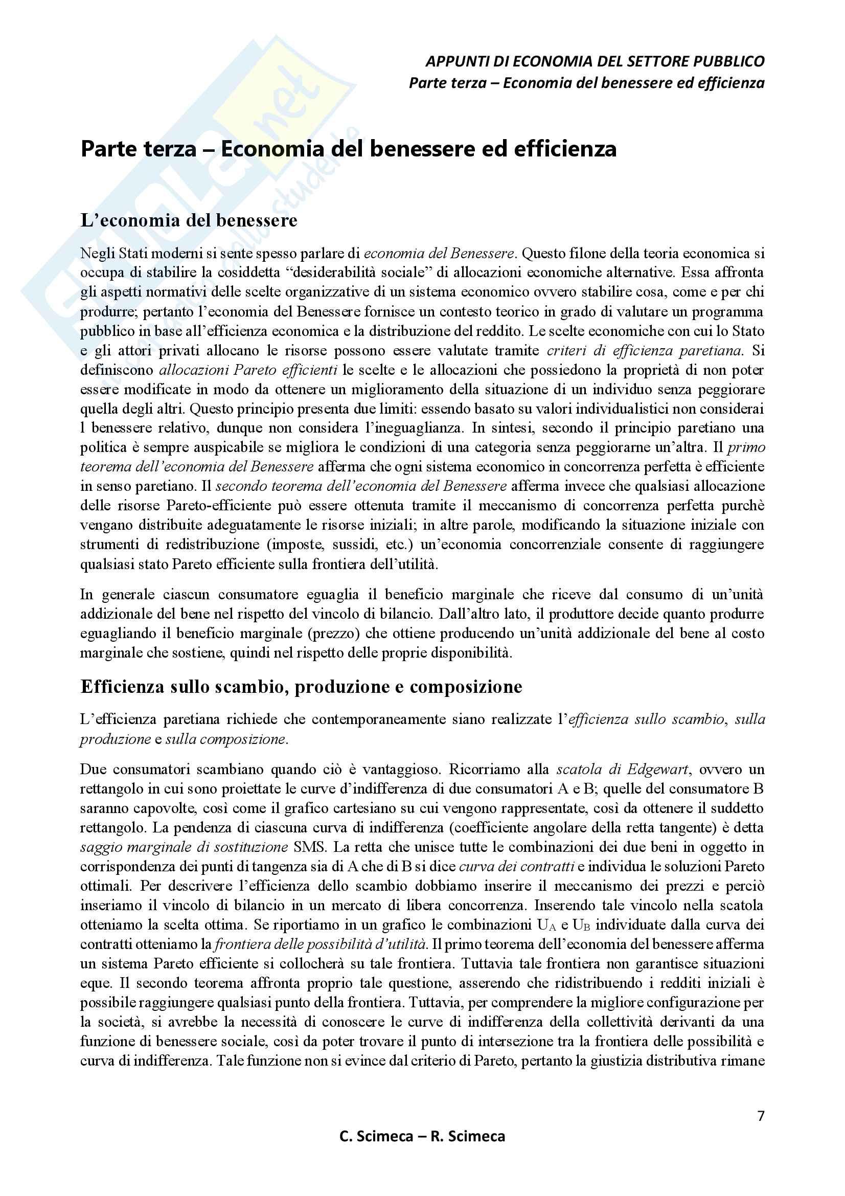 Economia del settore pubblico Pag. 11