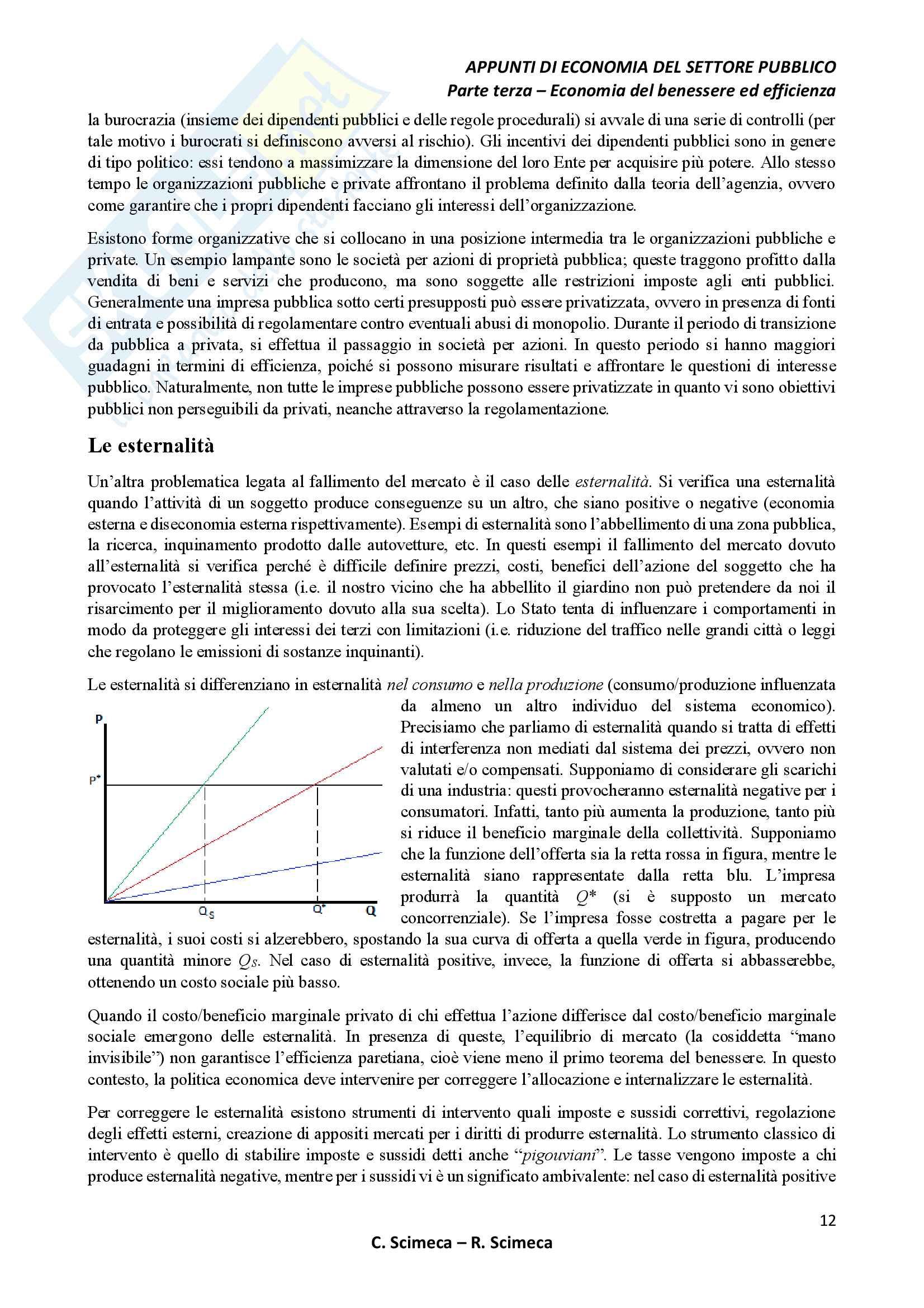 Economia del settore pubblico Pag. 16
