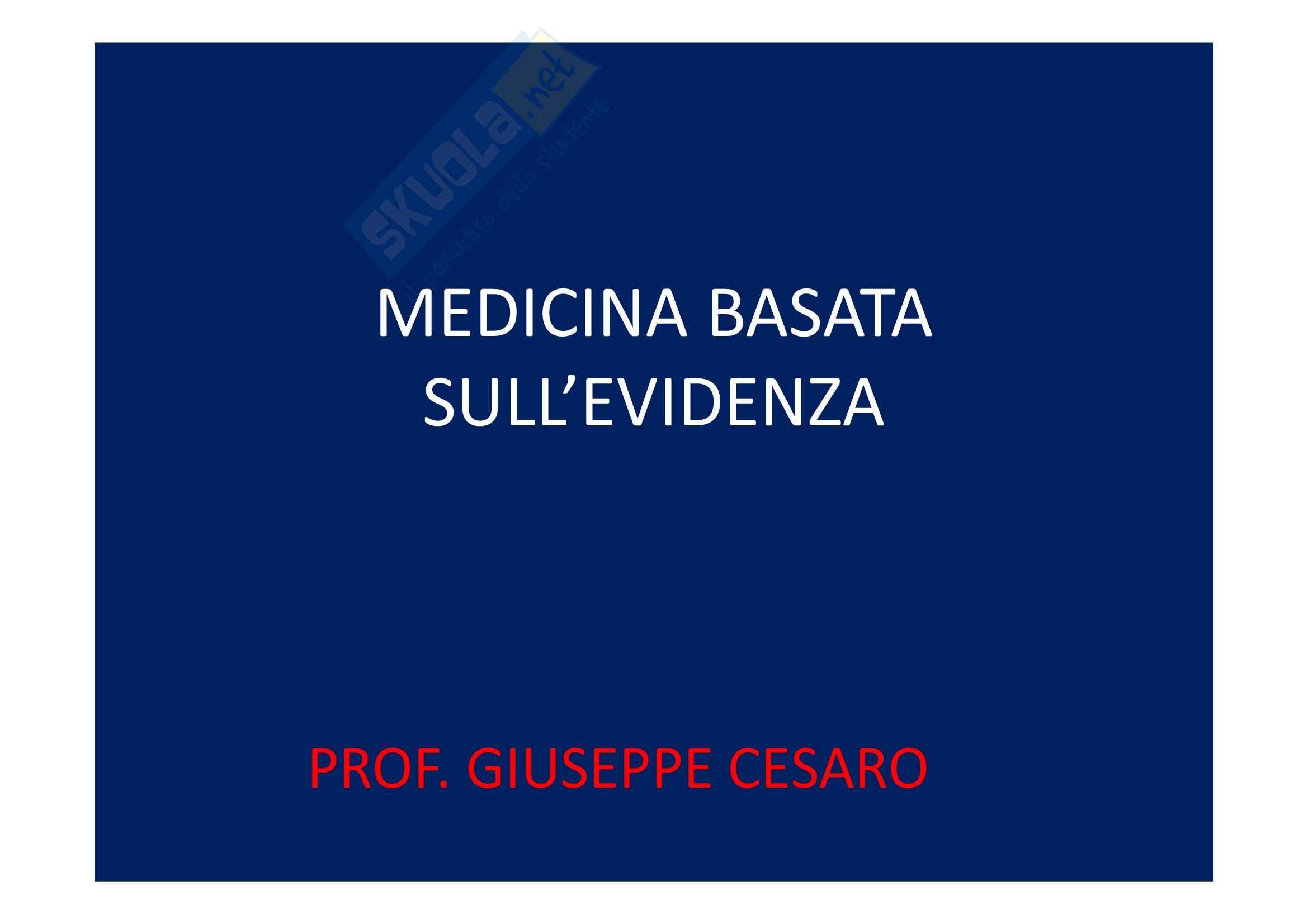 Medicina basata sull'evidenza - sindrome metabolica