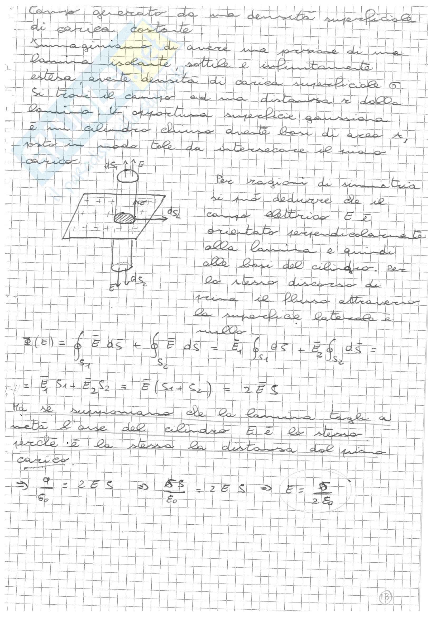 Elettromagnetismo 1 Pag. 11