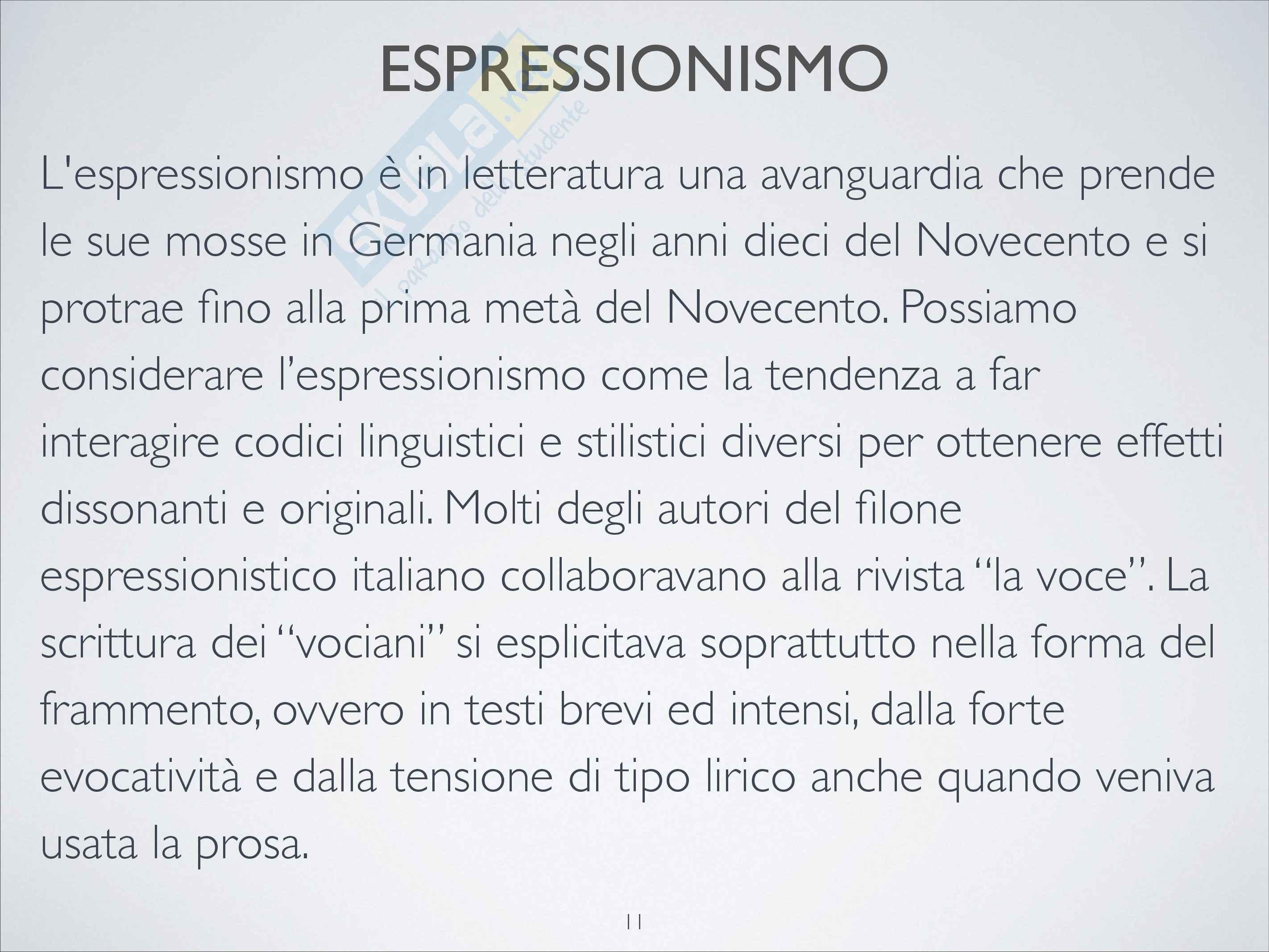 Riassunto esame Letteratura italiana contemporanea, prof. Tomasello Pag. 11