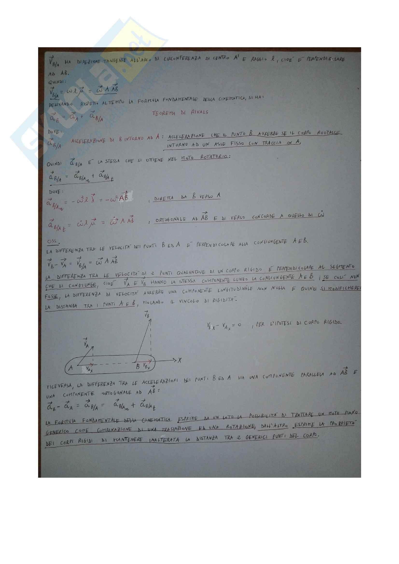 Cinematica, Meccanica applicata Pag. 11