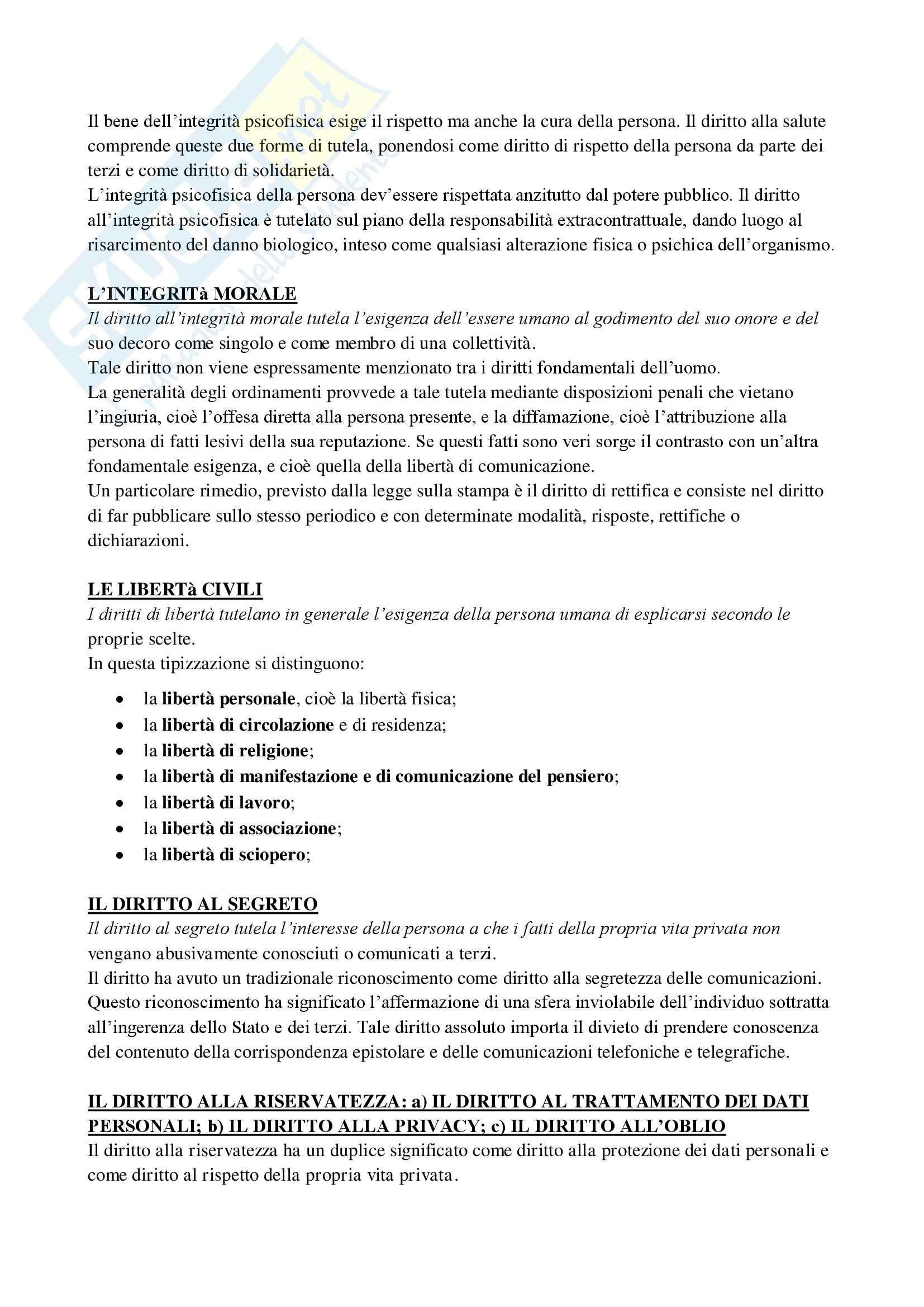 Diritto privato e della comunicazione - Appunti Pag. 16