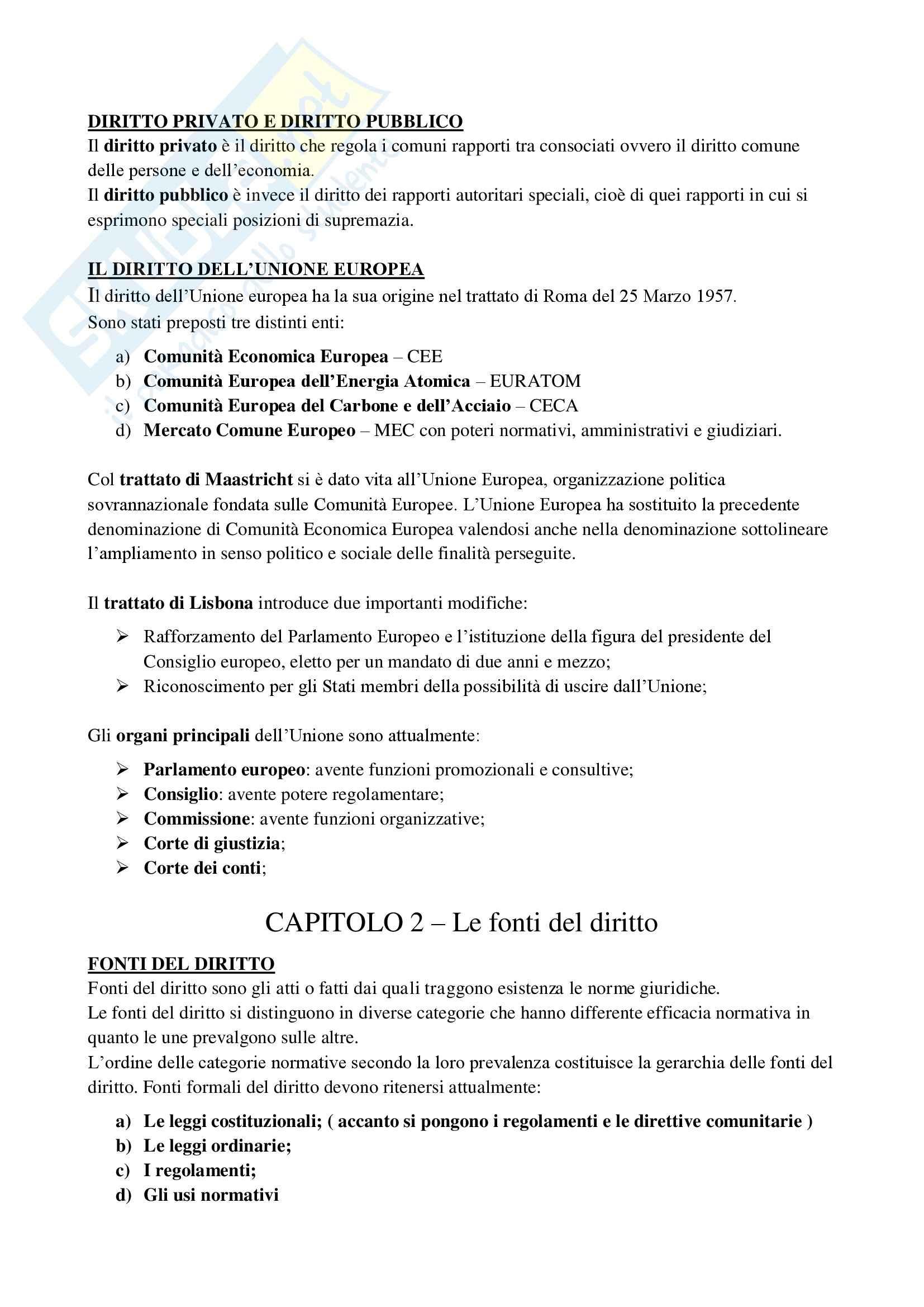 Diritto privato e della comunicazione - Appunti Pag. 2