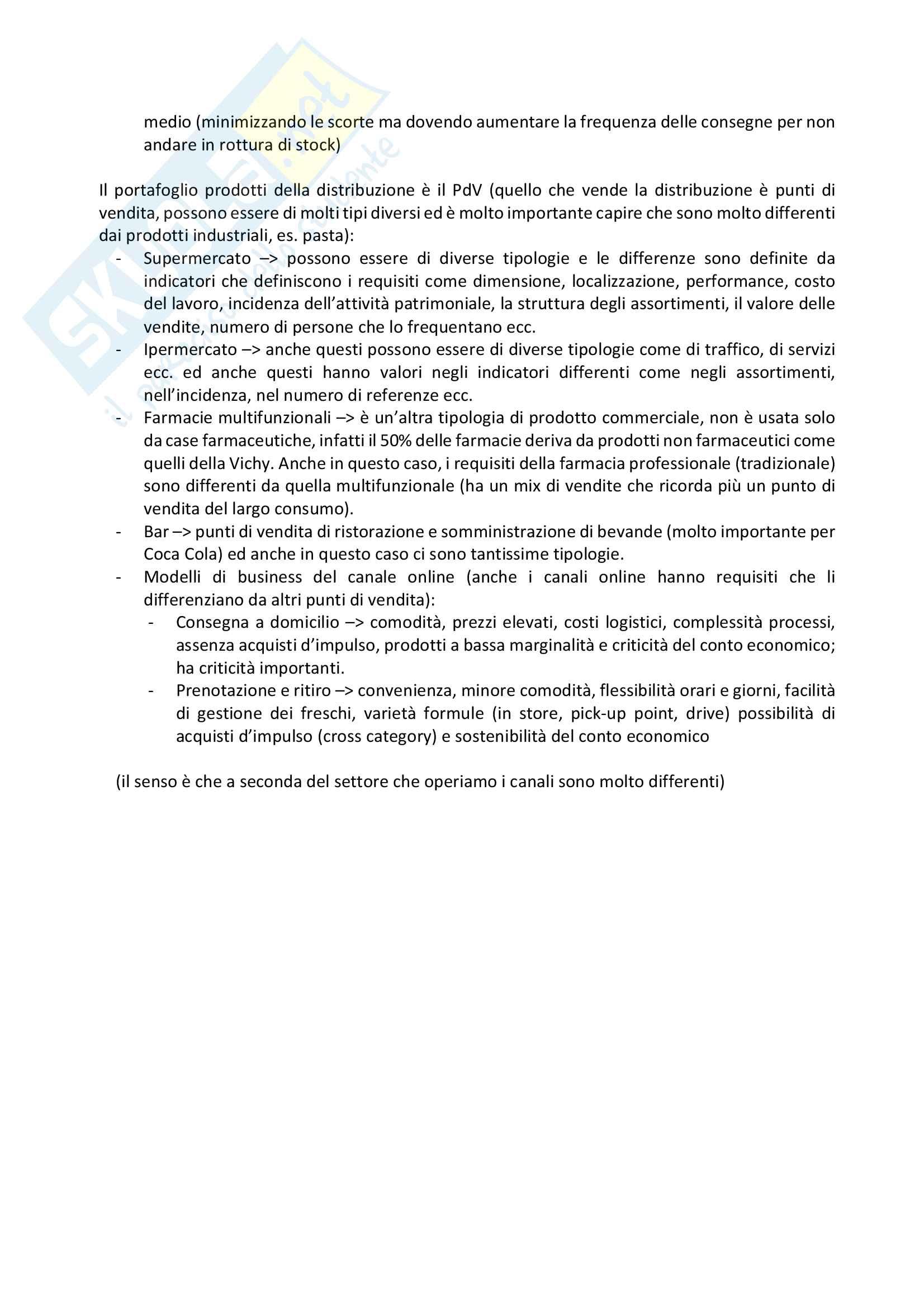 Appunti trade marketing Pag. 31