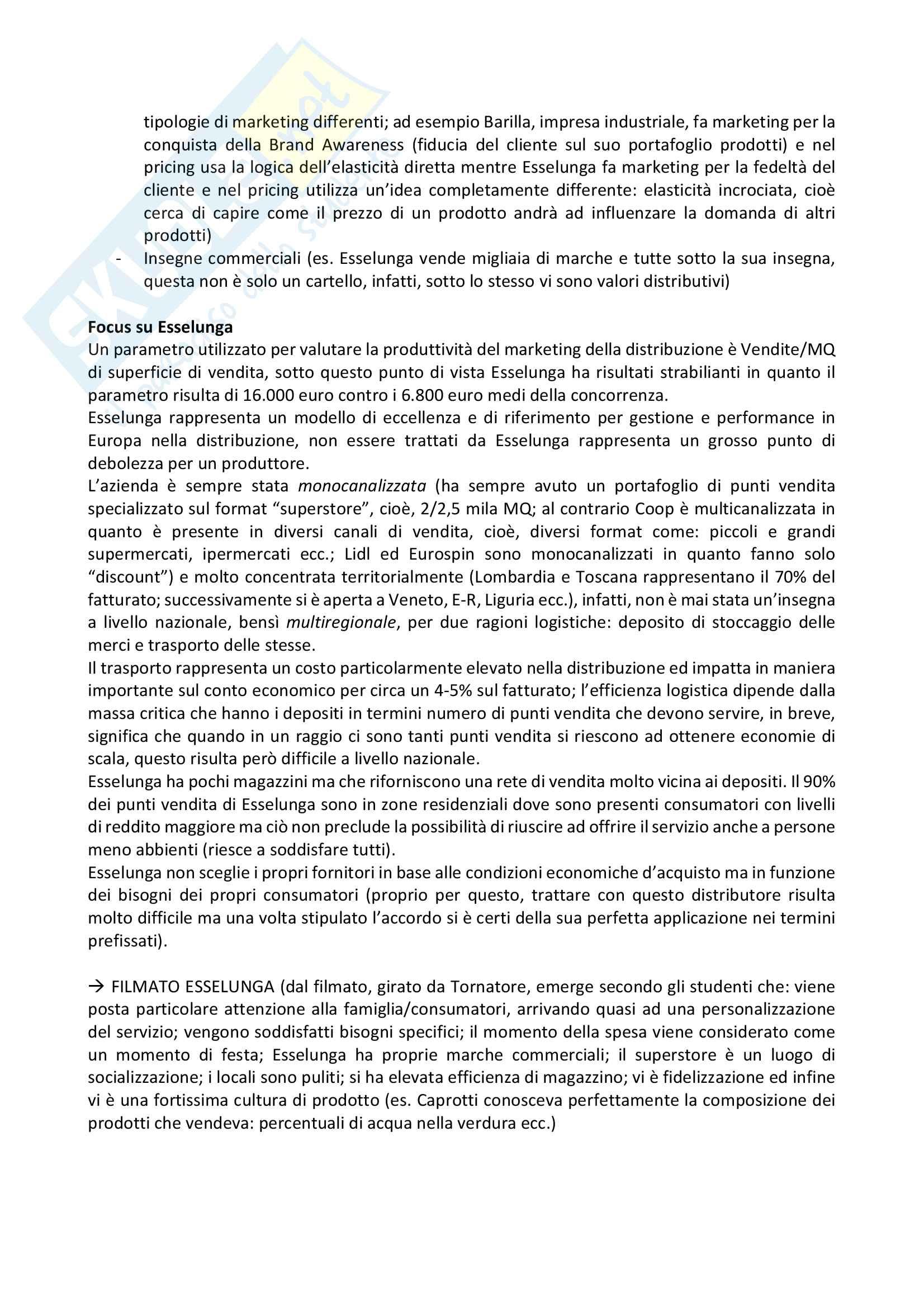 Appunti trade marketing Pag. 6