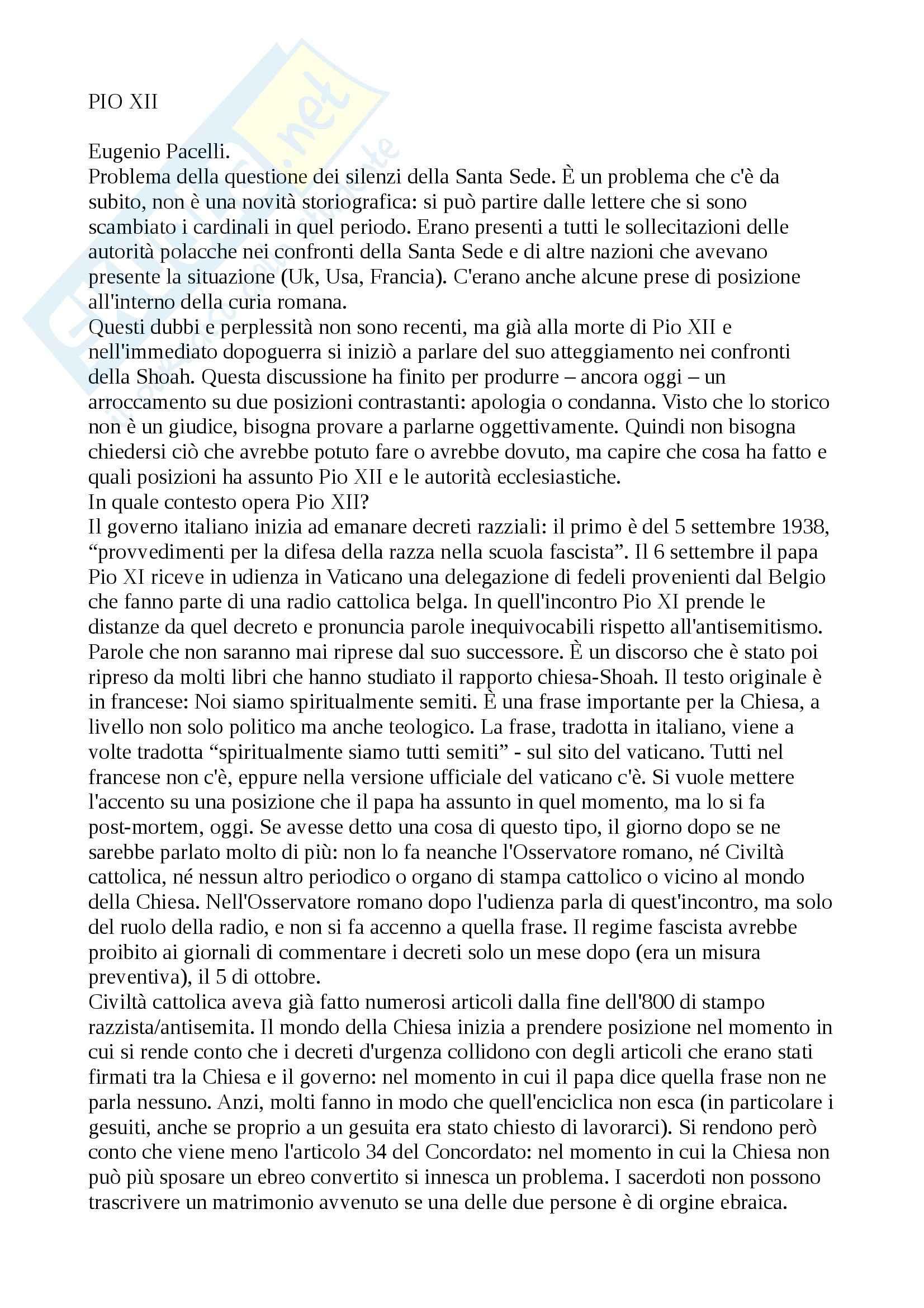 Storia contemporanea - Appunti Pag. 36
