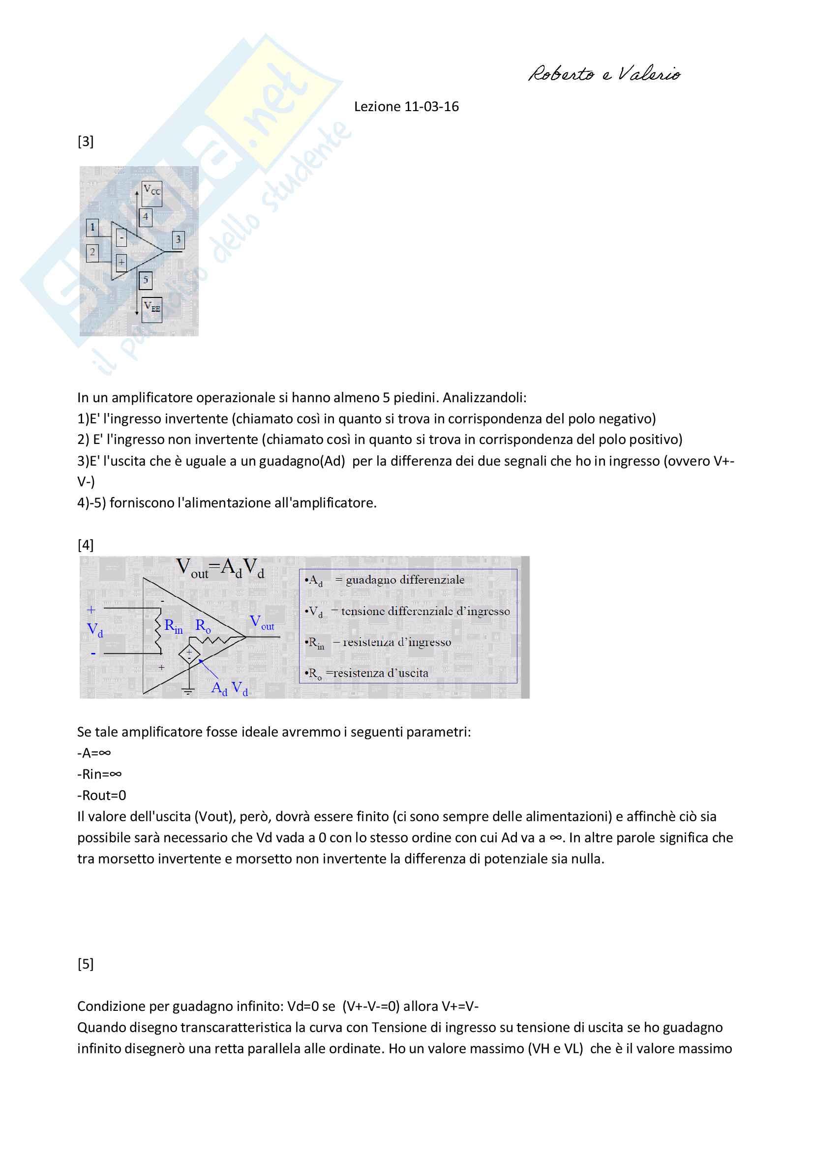 Elettronica - gestionale prof. Balucani