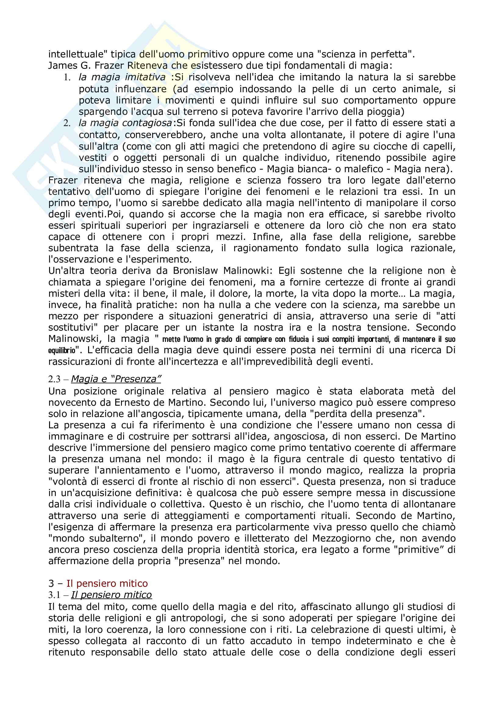 Riassunto esame Antropologia culturale, prof Natali, libro consigliato Elementi di antropologia Culturale, Fabietti Pag. 21