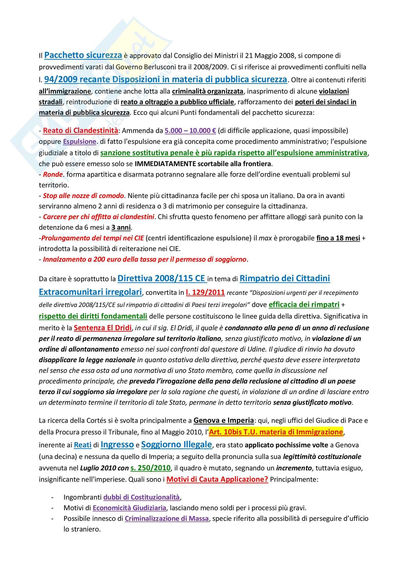 Sociologia del diritto - Cortez Pag. 41
