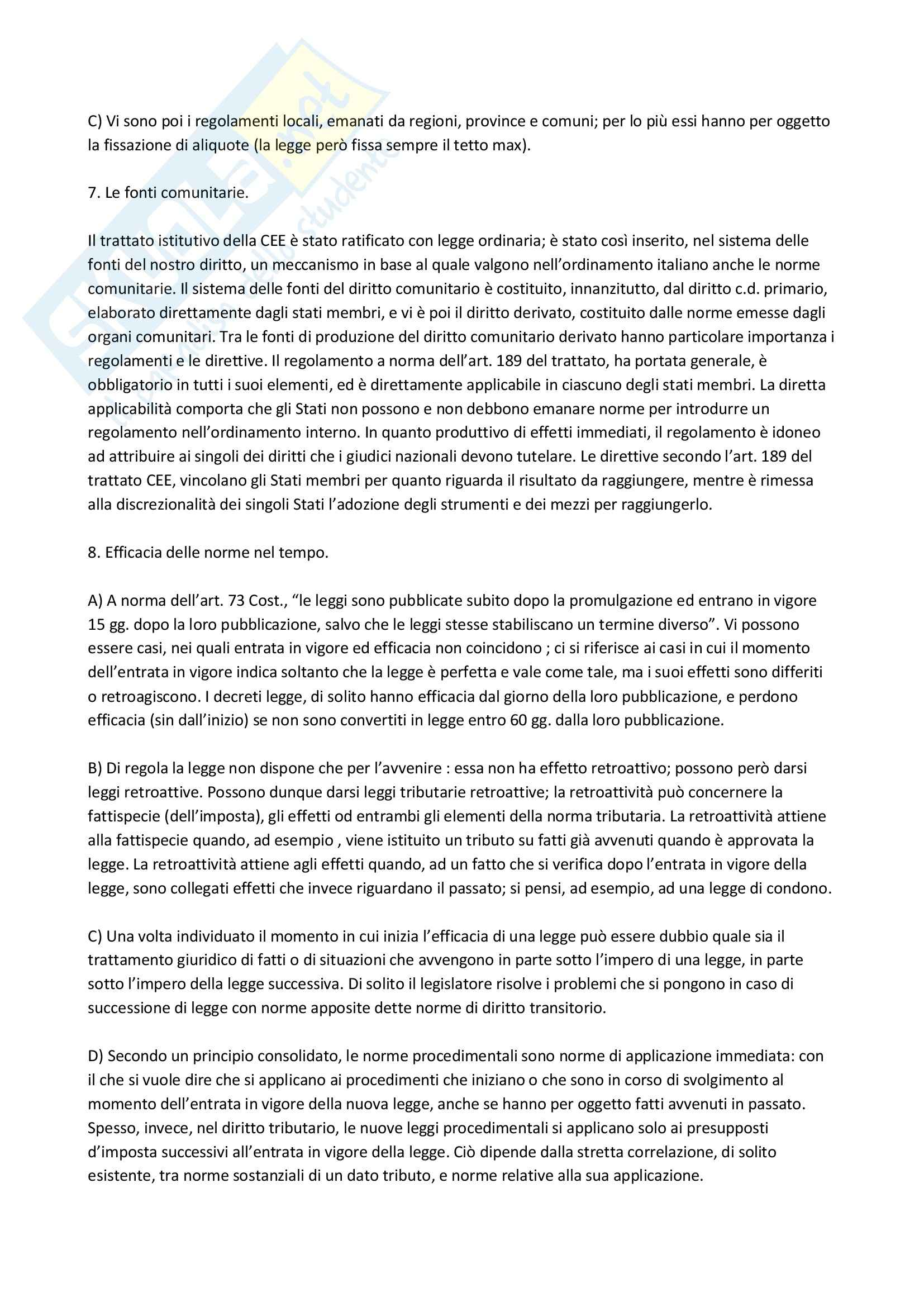 Diritto Tributario Pag. 6