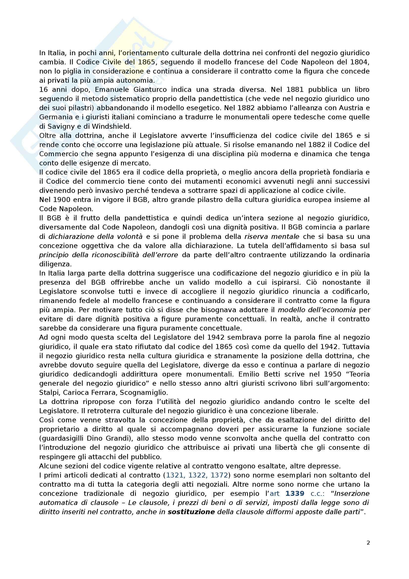 Diritto privato 2 - Appunti Pag. 2