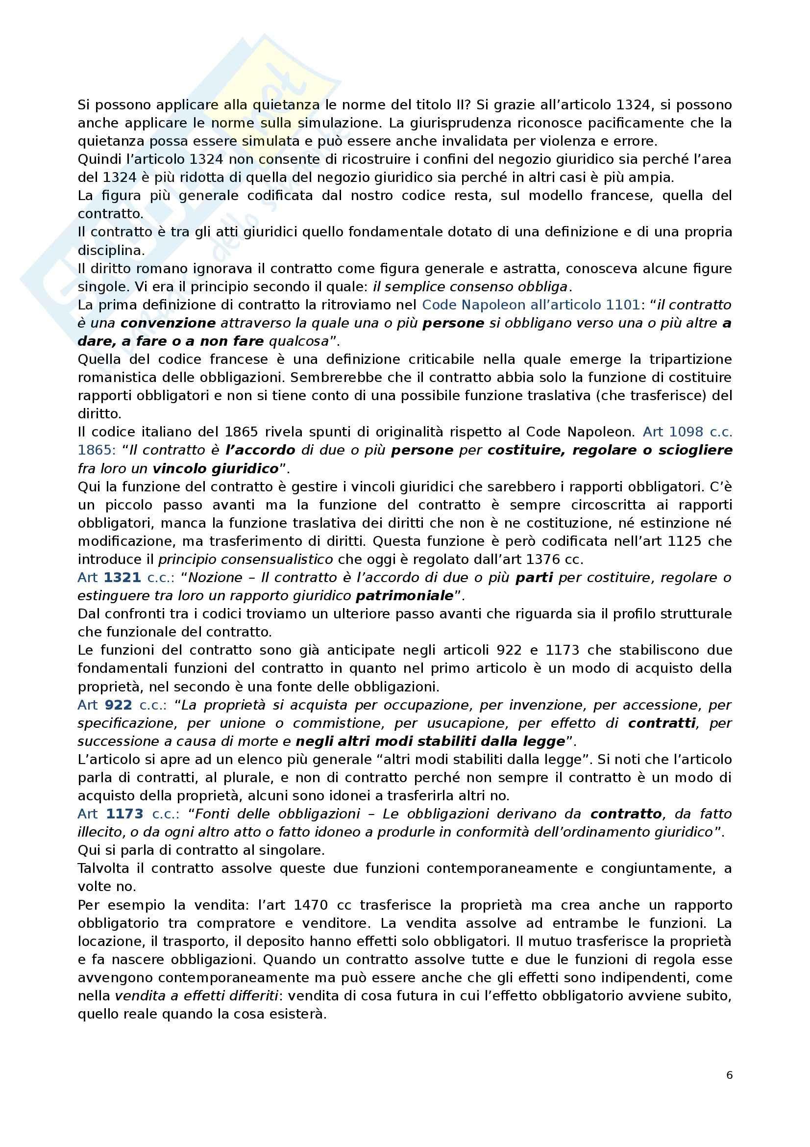 Diritto privato 2 - Appunti Pag. 6