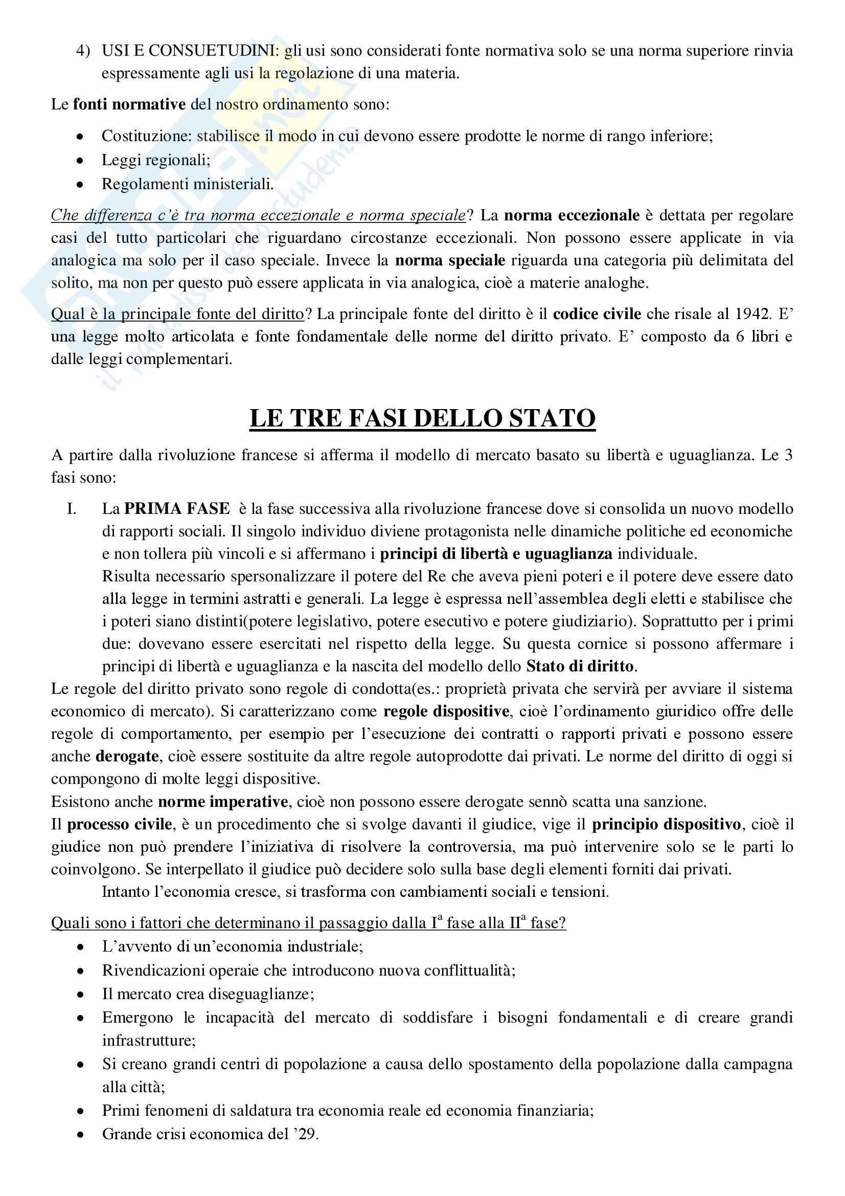 Diritto privato - Appunti prima parte Pag. 2