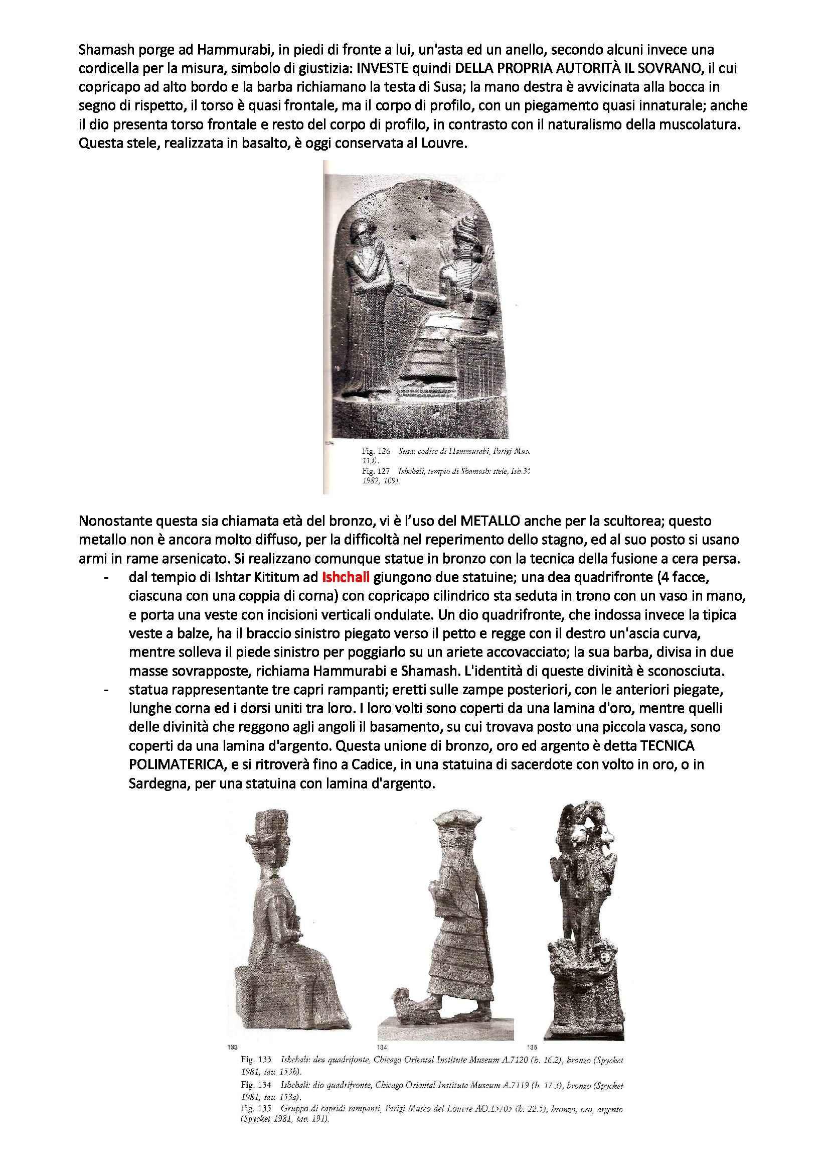 Archeologia e storia dell'arte del vicino Oriente antico - Appunti Pag. 31