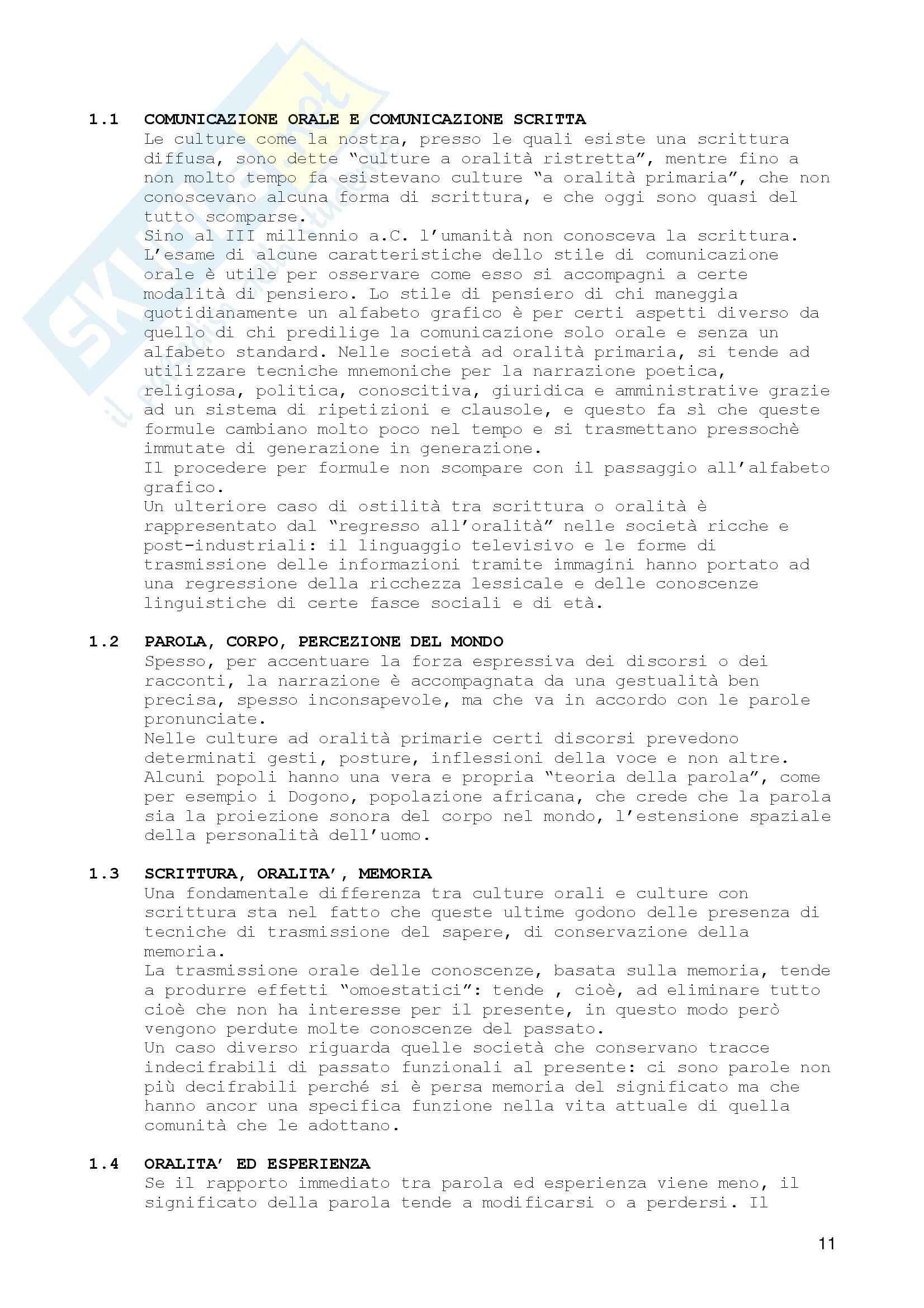 Antropologia culturale Pag. 11