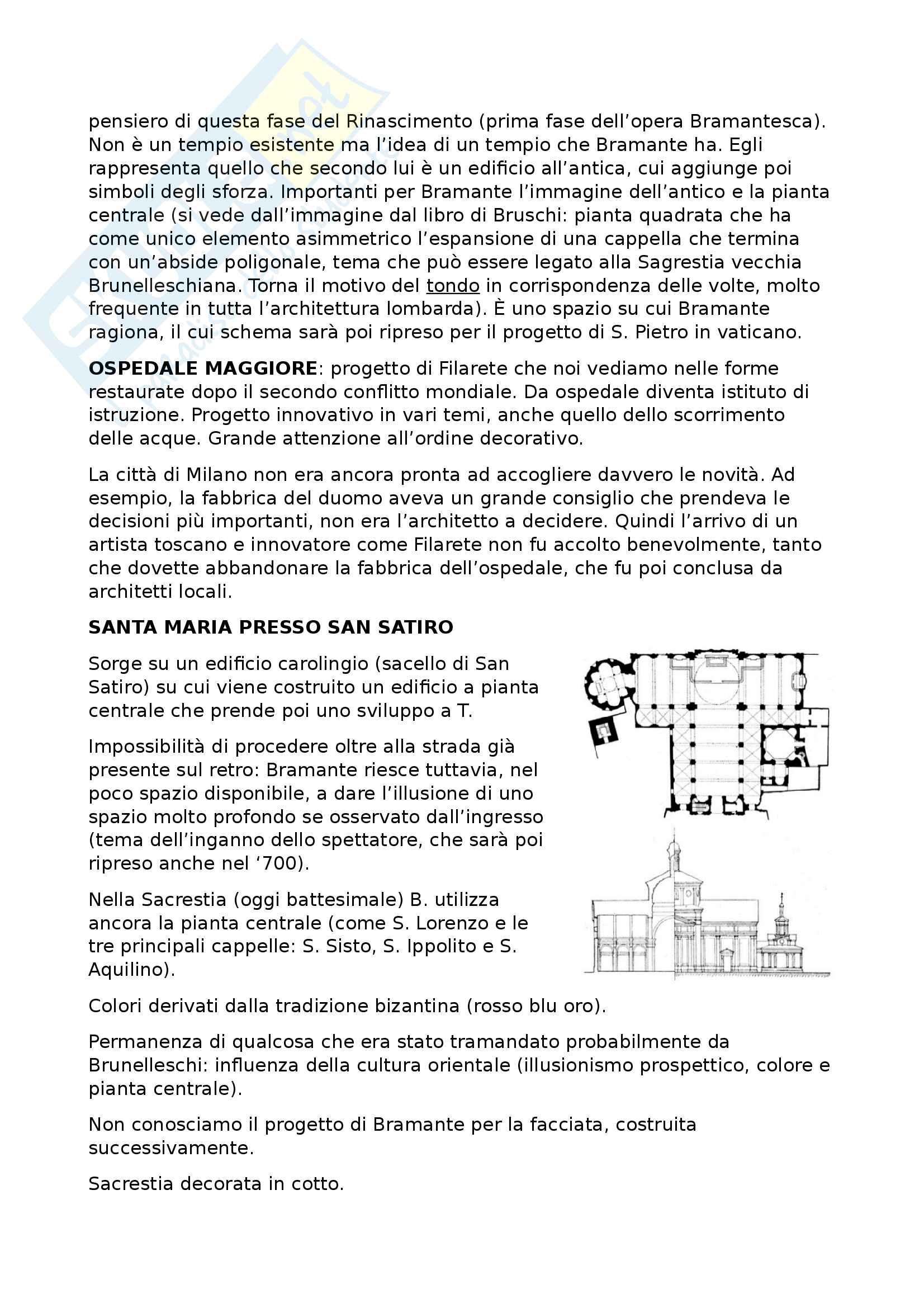 Storia dell'architettura: Bramante Pag. 2