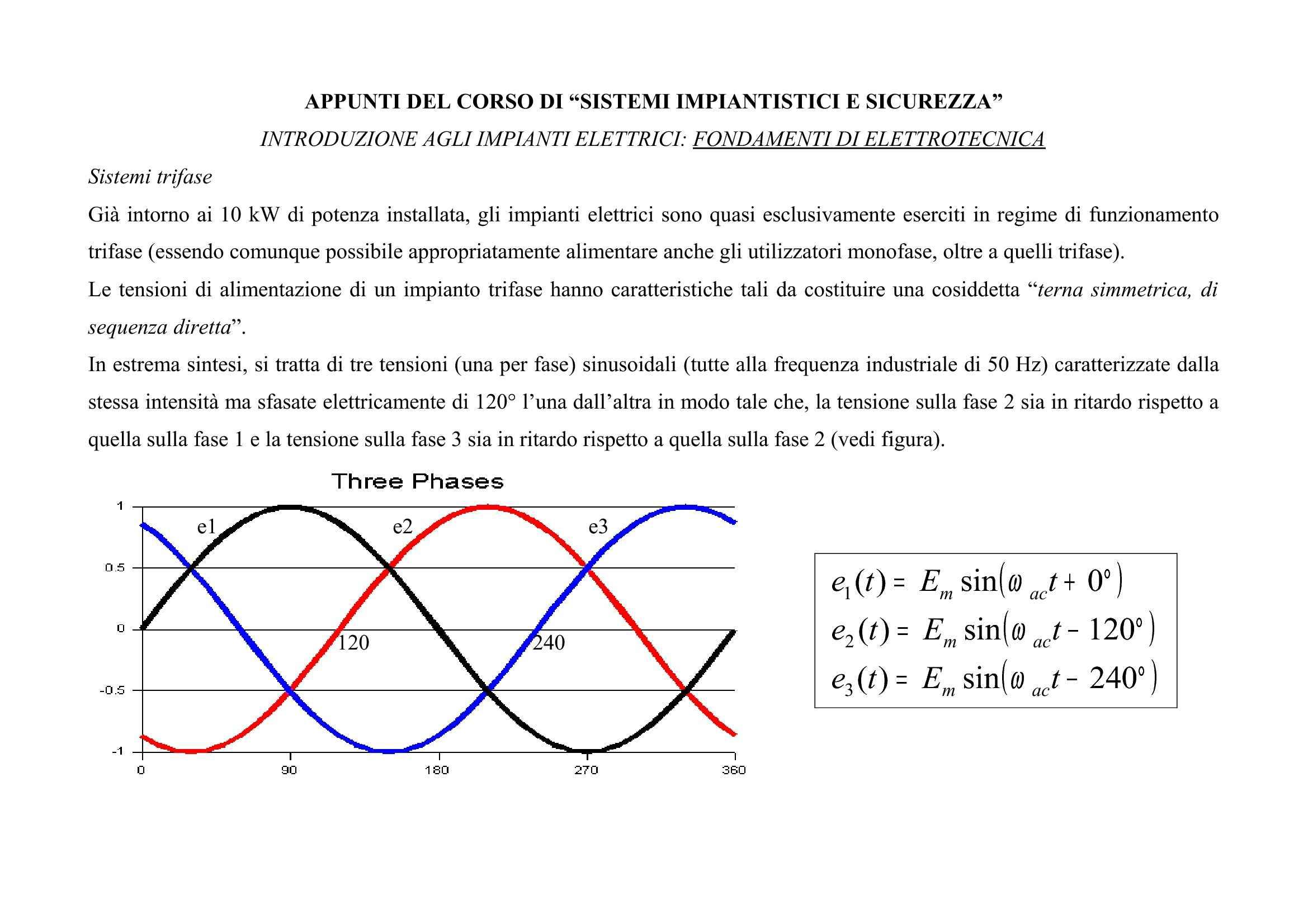 Sistemi trifase