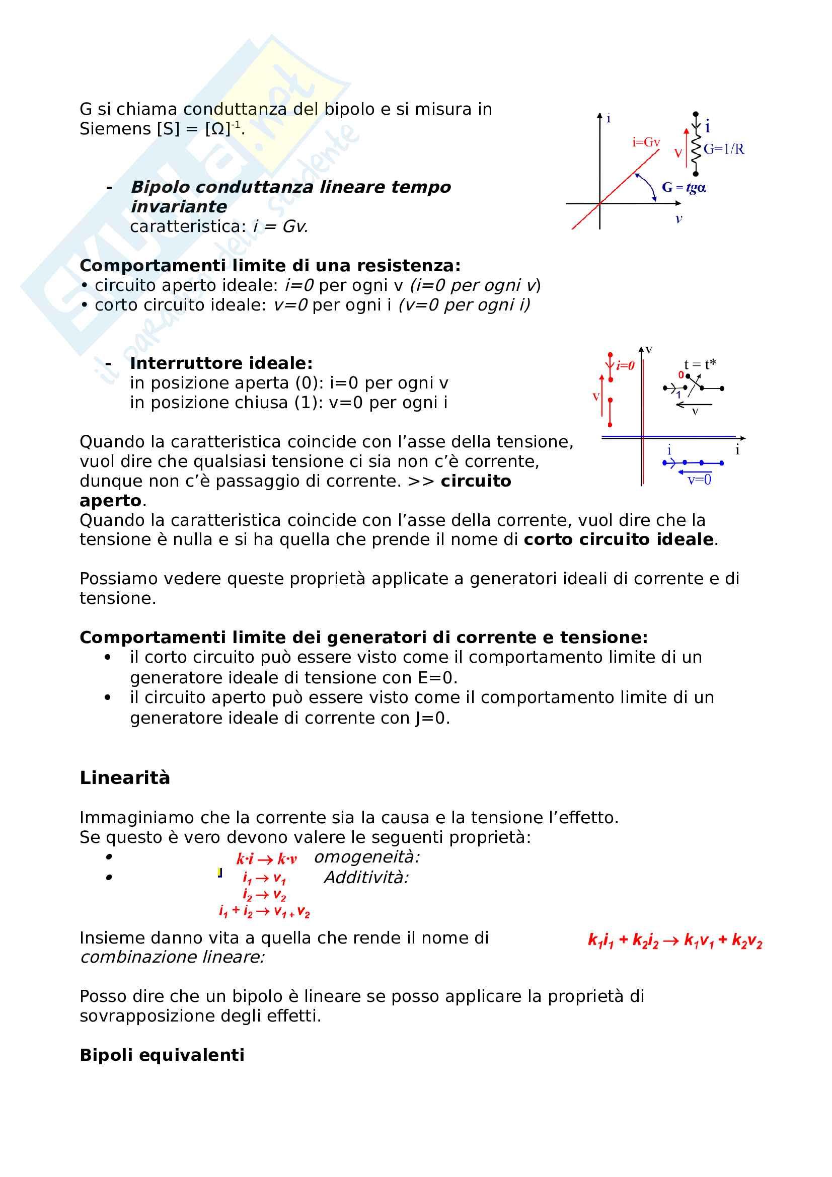 Appunti di Elettrotecnica I Pag. 16
