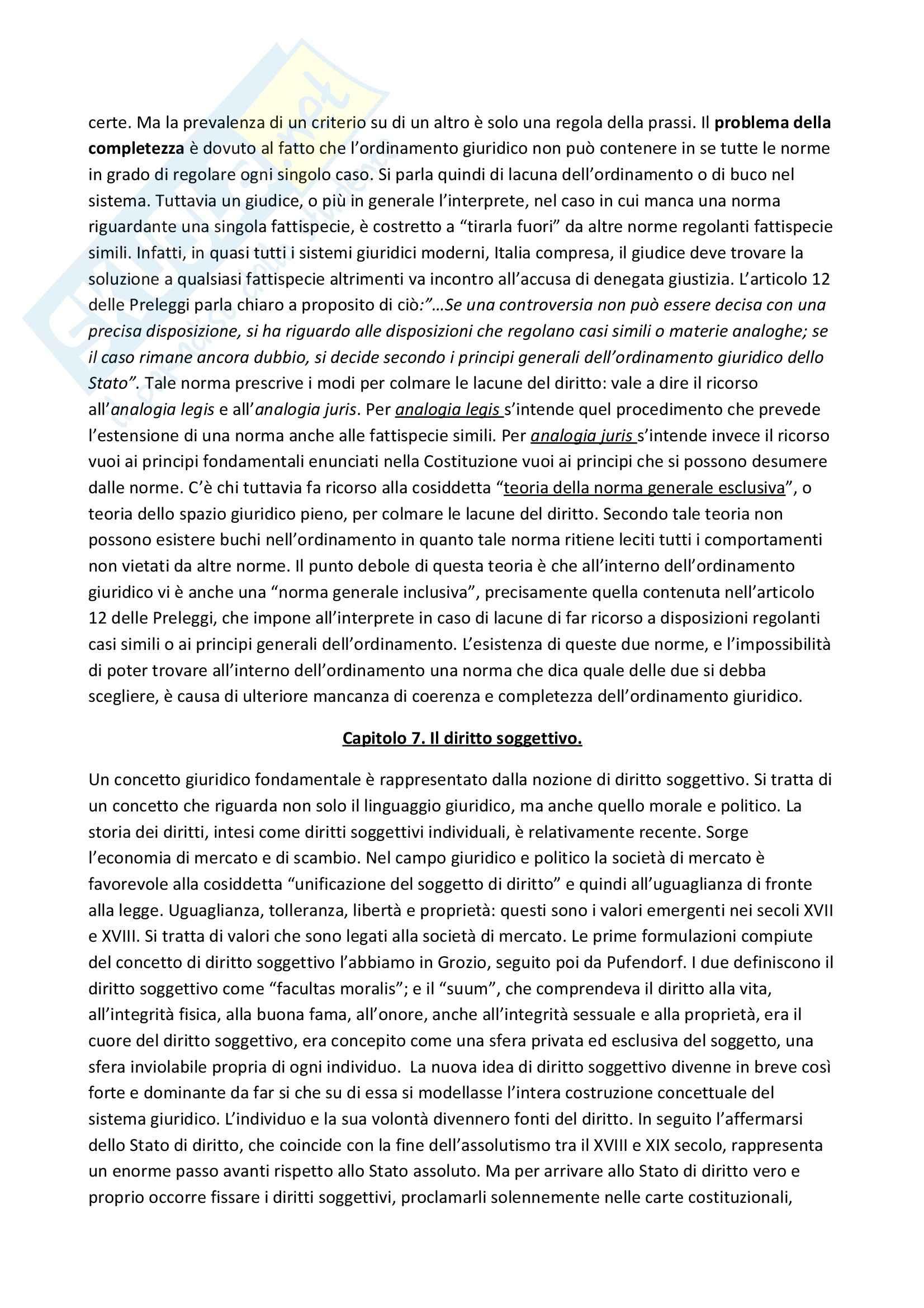 Riassunto esame Filosofia del diritto, libro adottato Introduzione alla filosofia del diritto, Castignone Pag. 6