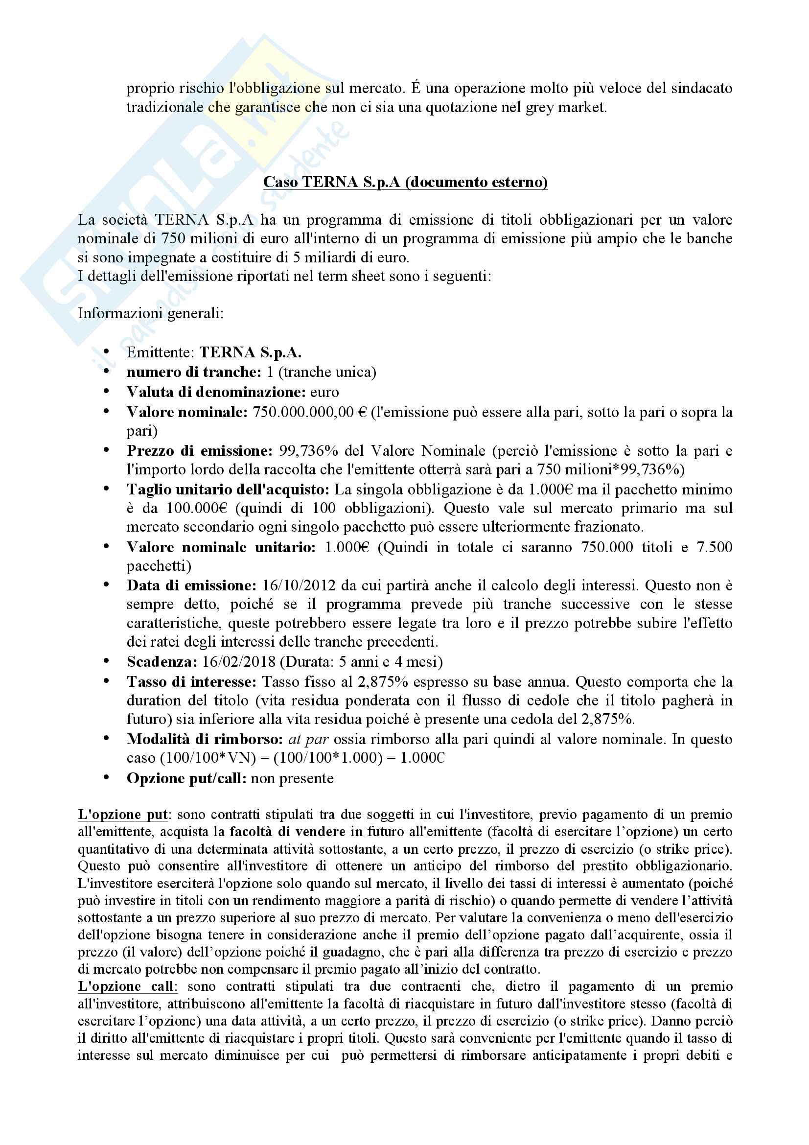 Appunti Corporate Banking Pag. 11