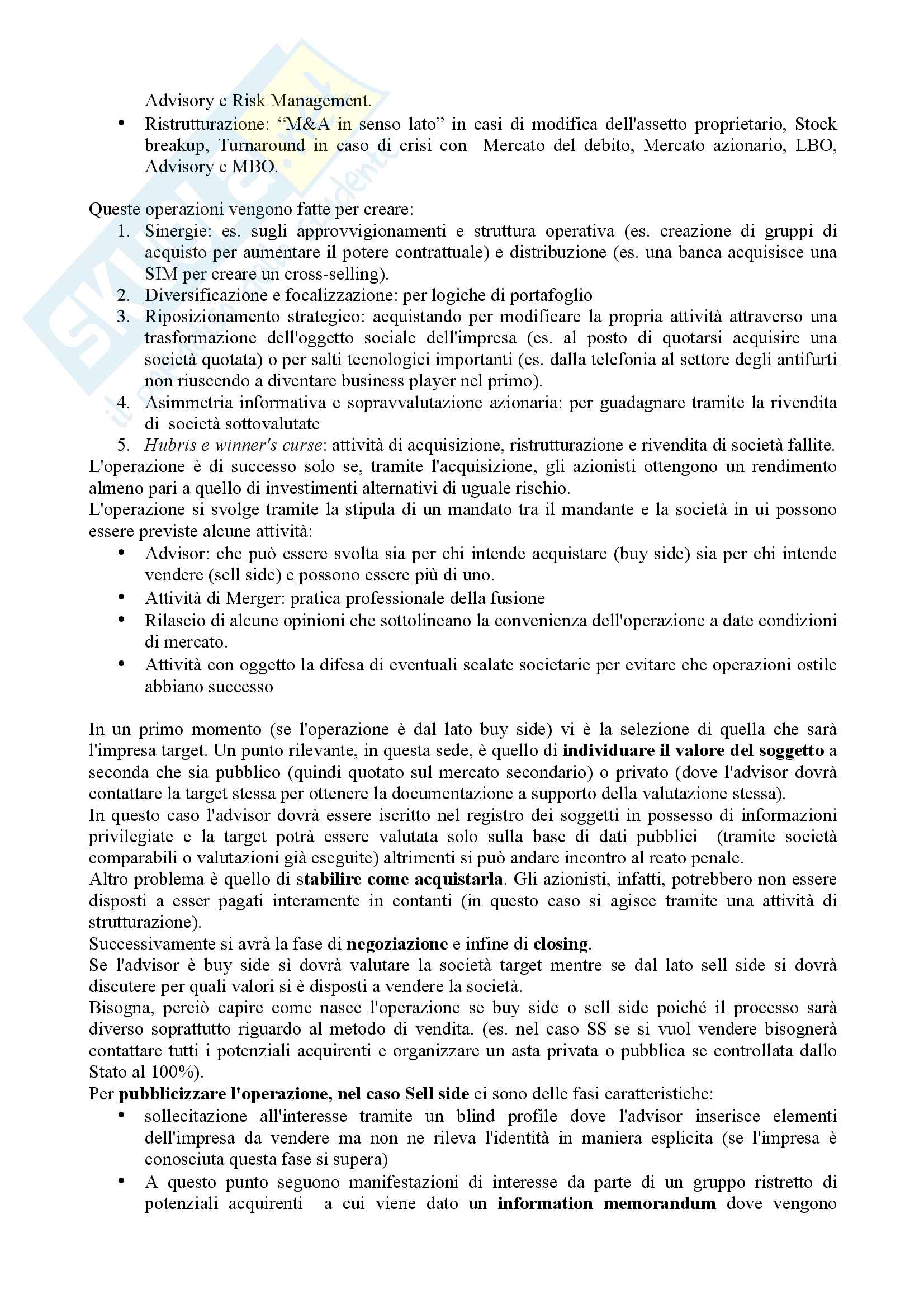 Appunti Corporate Banking Pag. 16