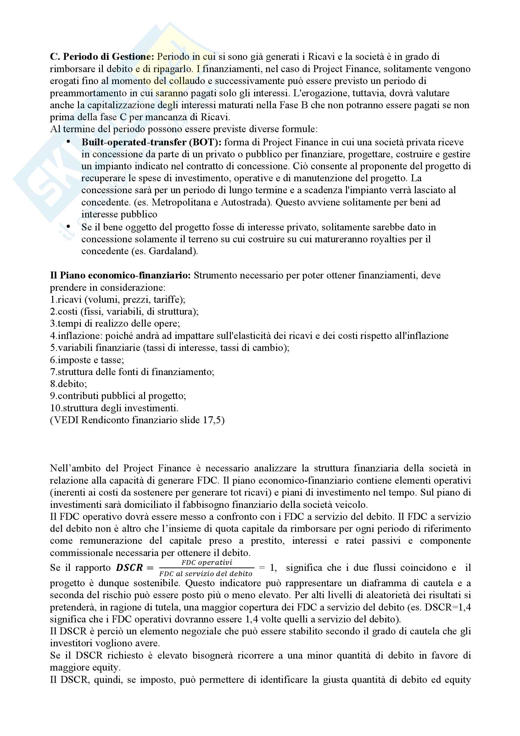 Appunti Corporate Banking Pag. 26