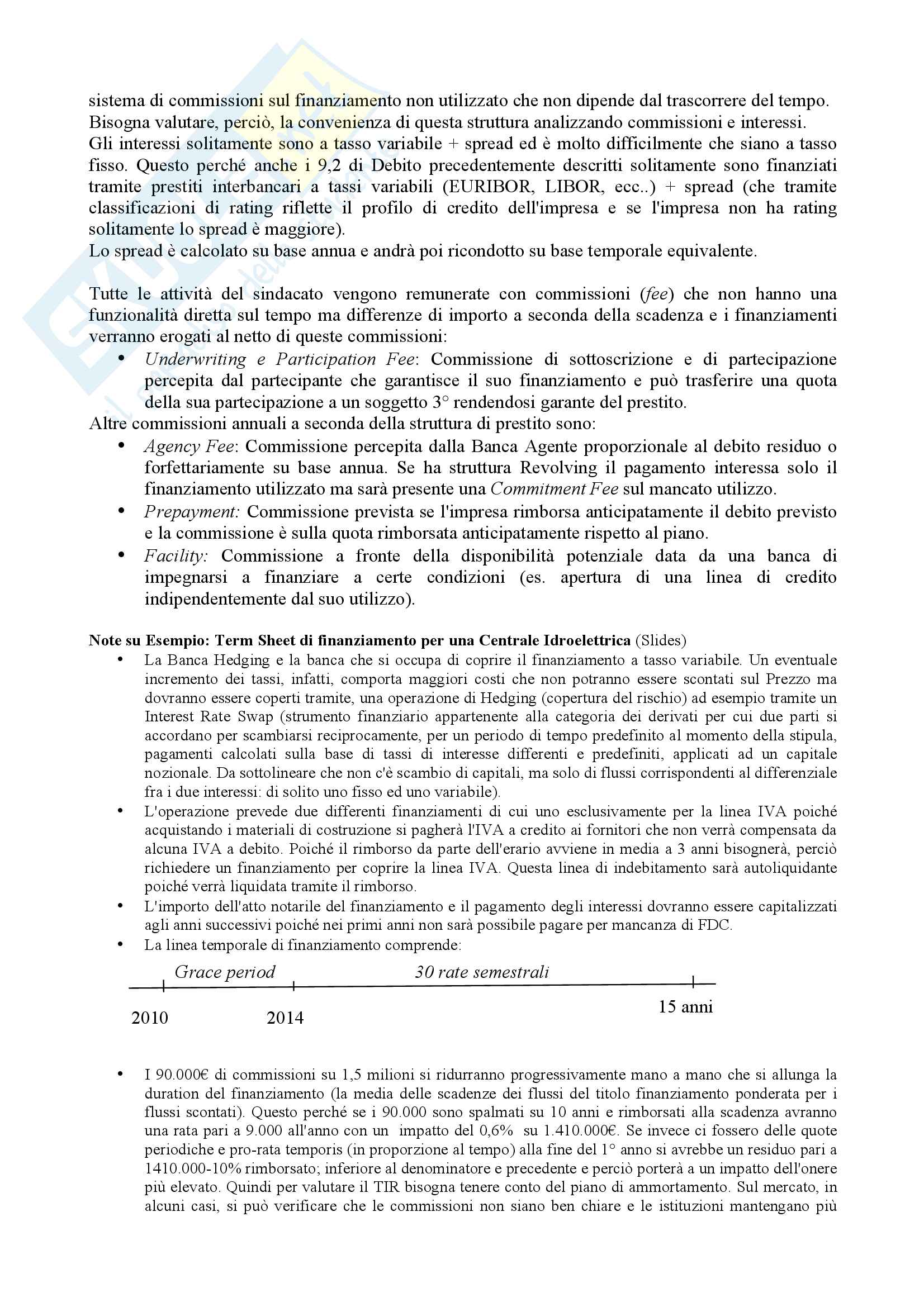 Appunti Corporate Banking Pag. 6