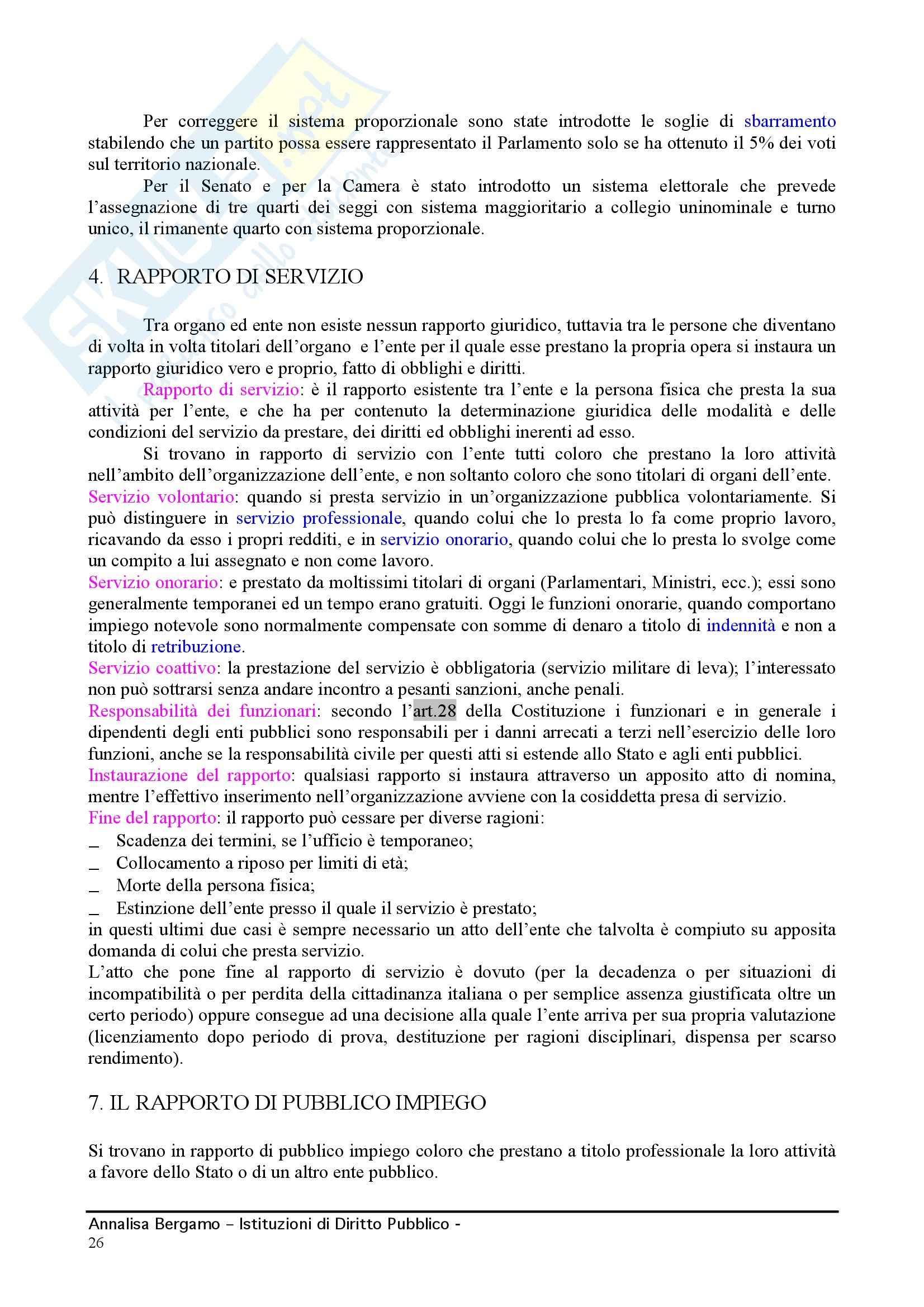 Diritto pubblico - Compendio Pag. 26