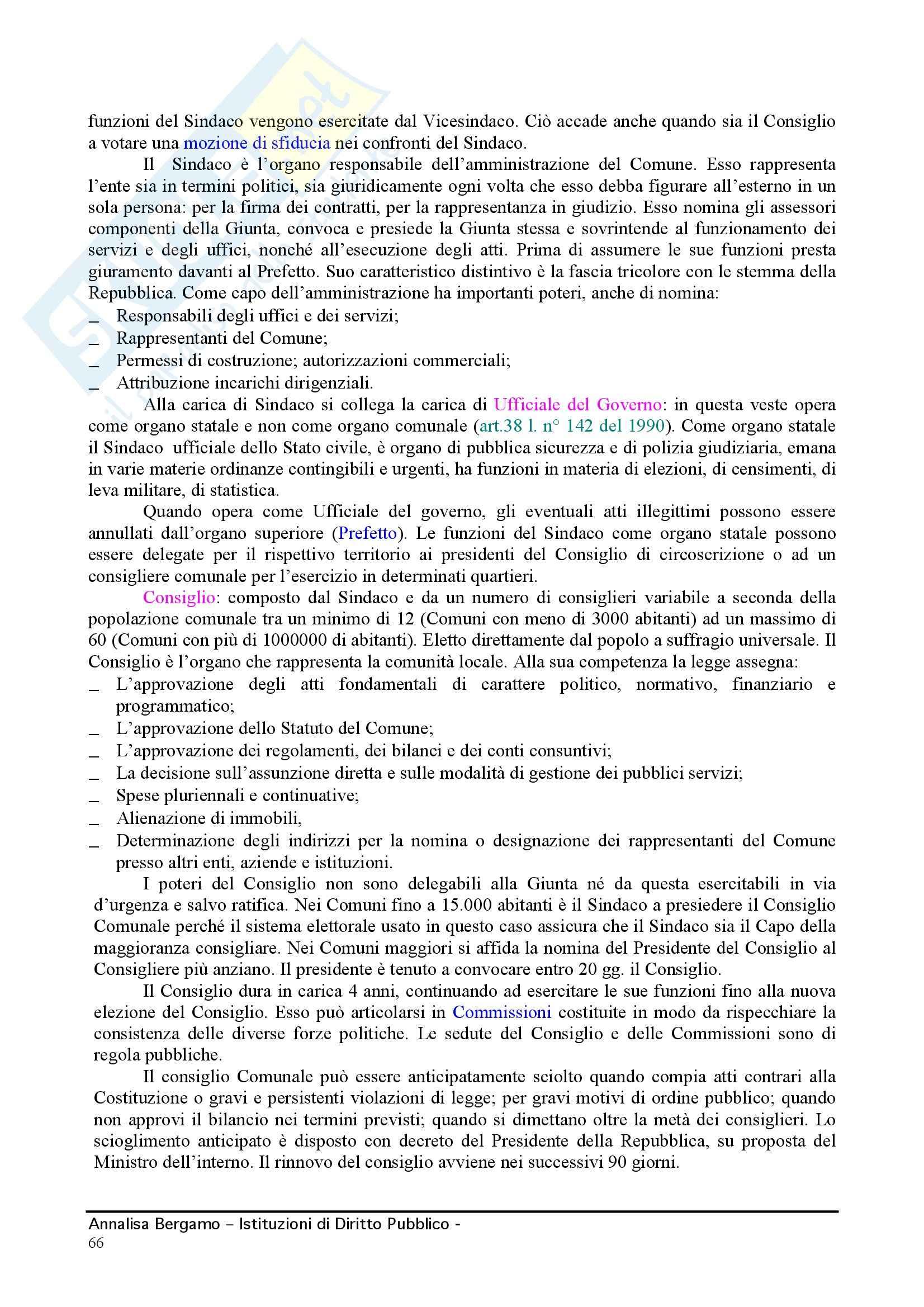 Diritto pubblico - Compendio Pag. 66