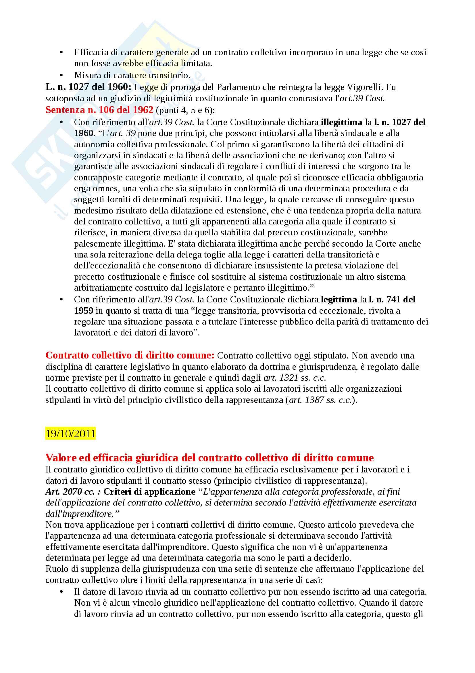 Appunti Diritto Sindacale 2011 Lucio Imberti Pag. 11