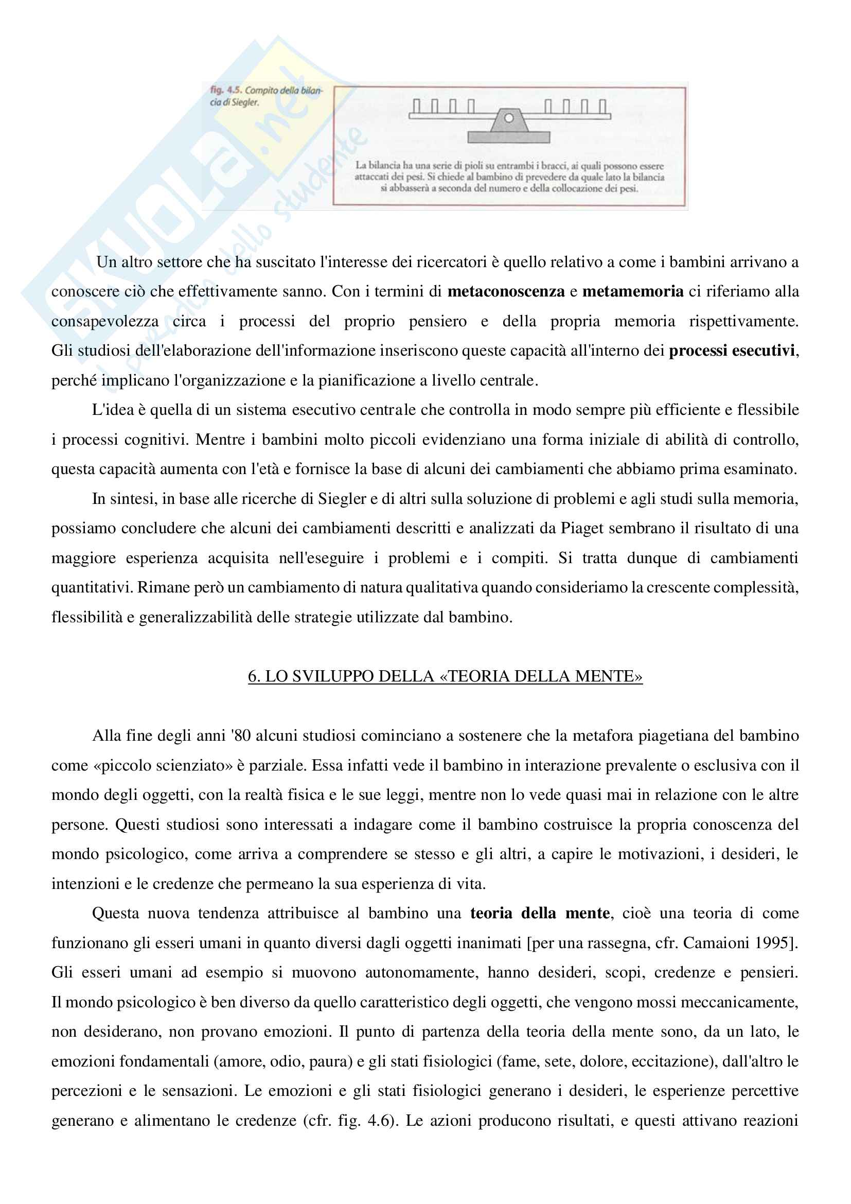 """Riassunto esame Psicologia dello sviluppo, prof.ssa Lecciso, libro adottato """"Psicologia dello sviluppo"""", Camaioni, Di Blasio Pag. 81"""