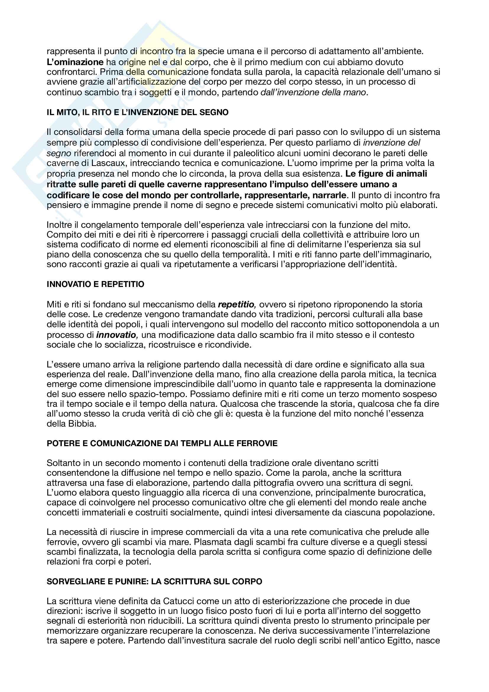 Riassunto esame Sociologia delle tecnologie culturali, prof. Brancato, libro consigliato Il mondo dei media, Brancato, Chirchiano, Fichera Pag. 2