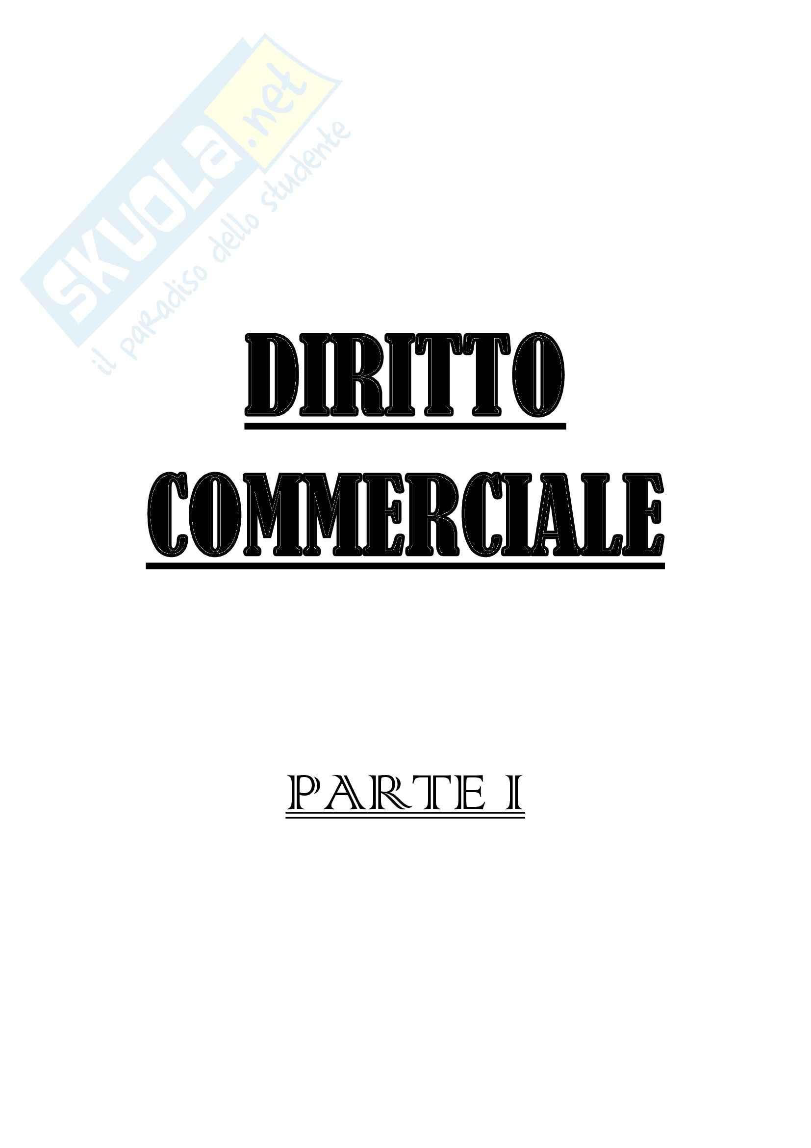 Diritto commerciale I - NON FREQUENTANTE