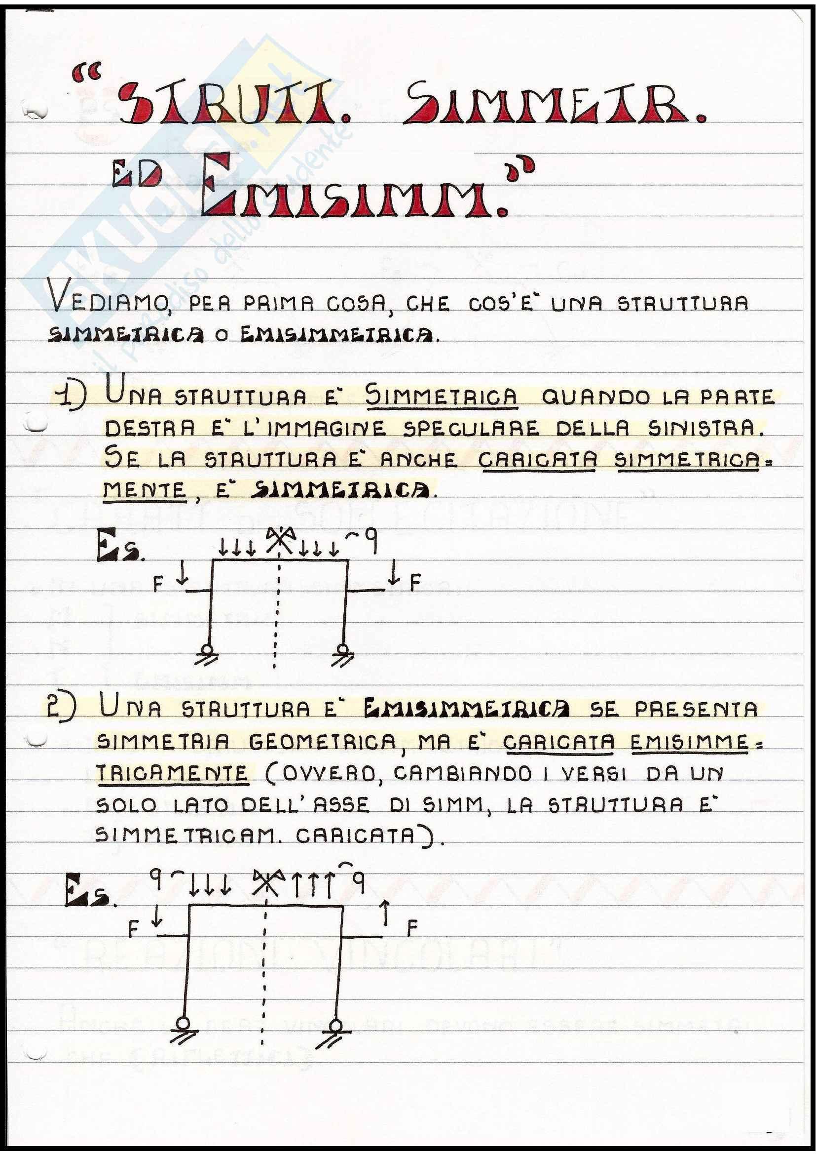 Scienza delle costruzioni - iperstaticità e labilità di una struttura Pag. 51
