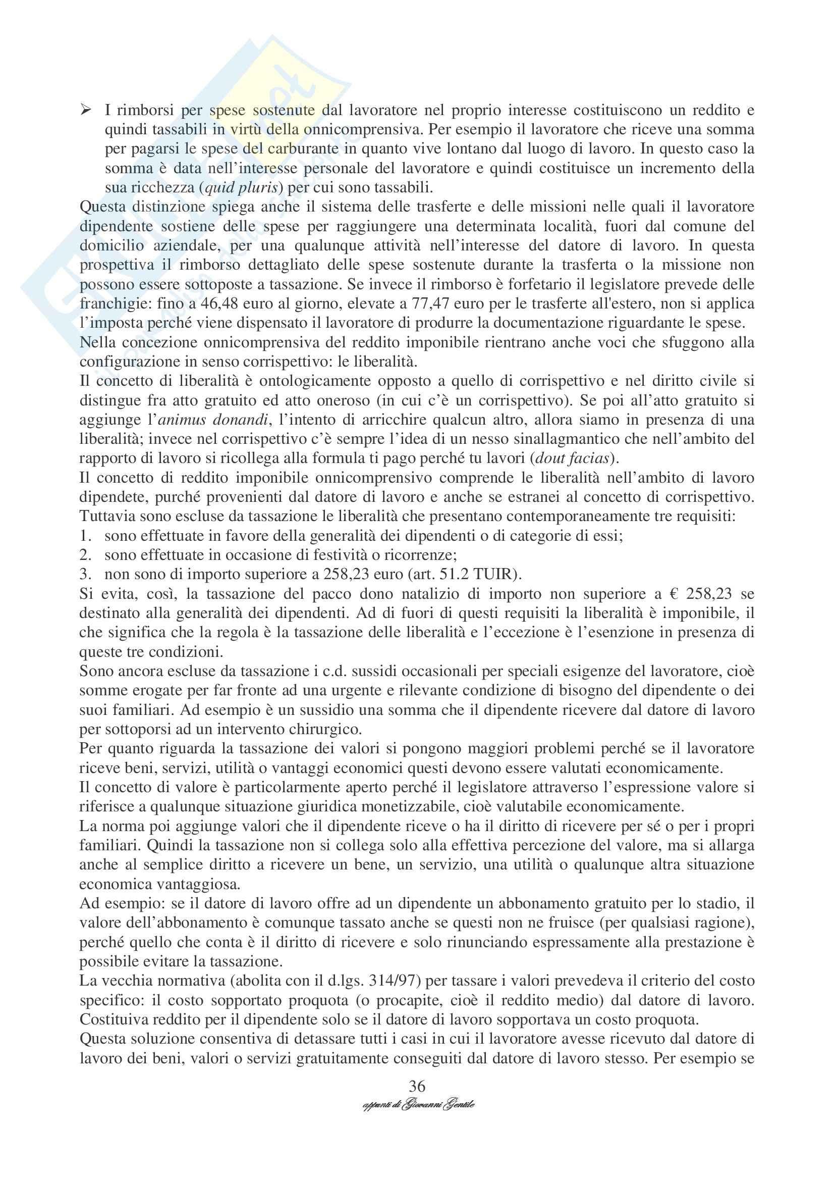 Diritto tributario - Appunti Pag. 36