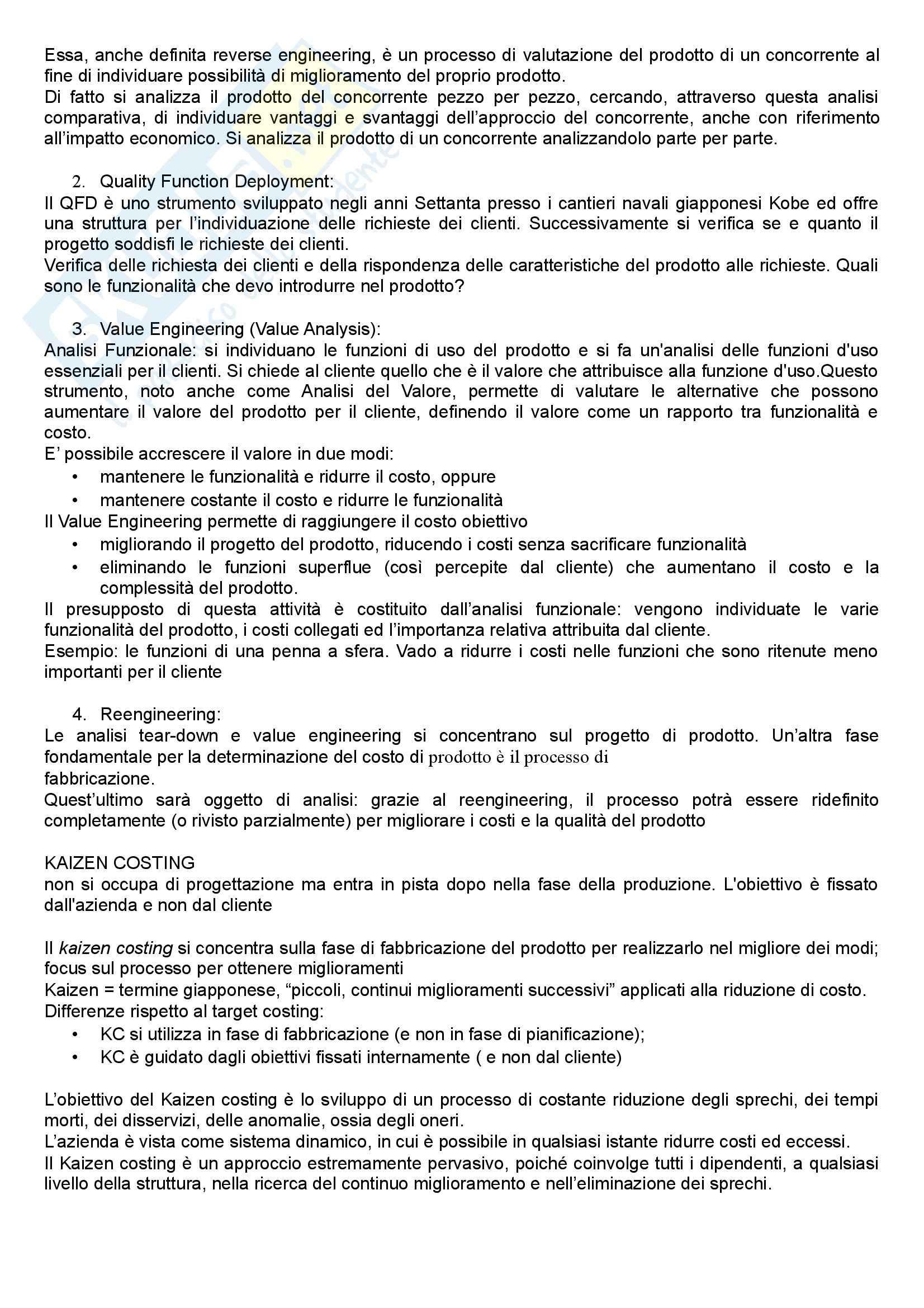 Lezioni, Programmazione e controllo II Pag. 31