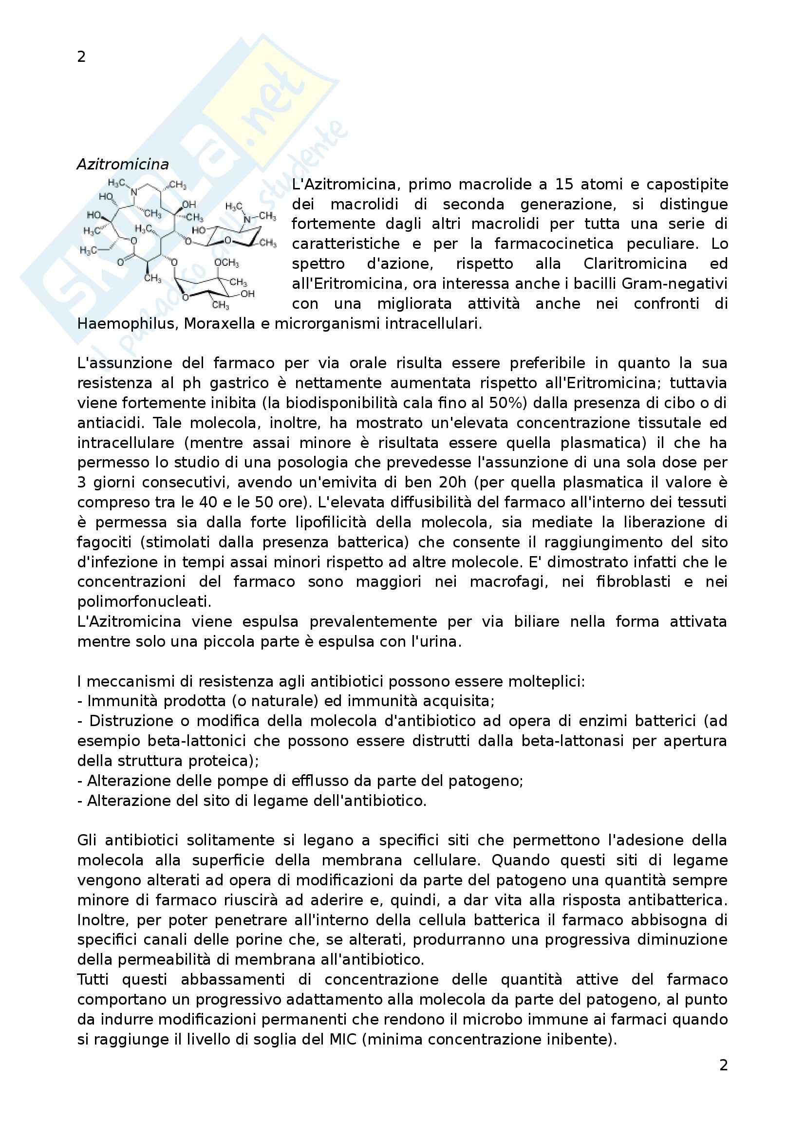 Chimica biofarmaceutica - Appunti Pag. 2