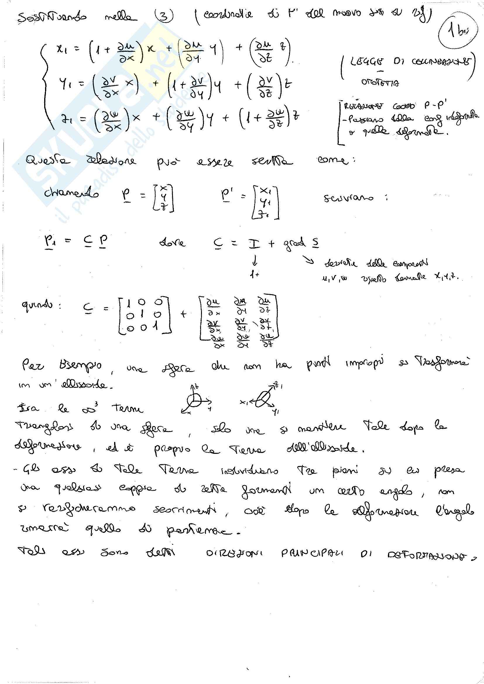 Lezioni, Scienza delle costruzioni Pag. 2