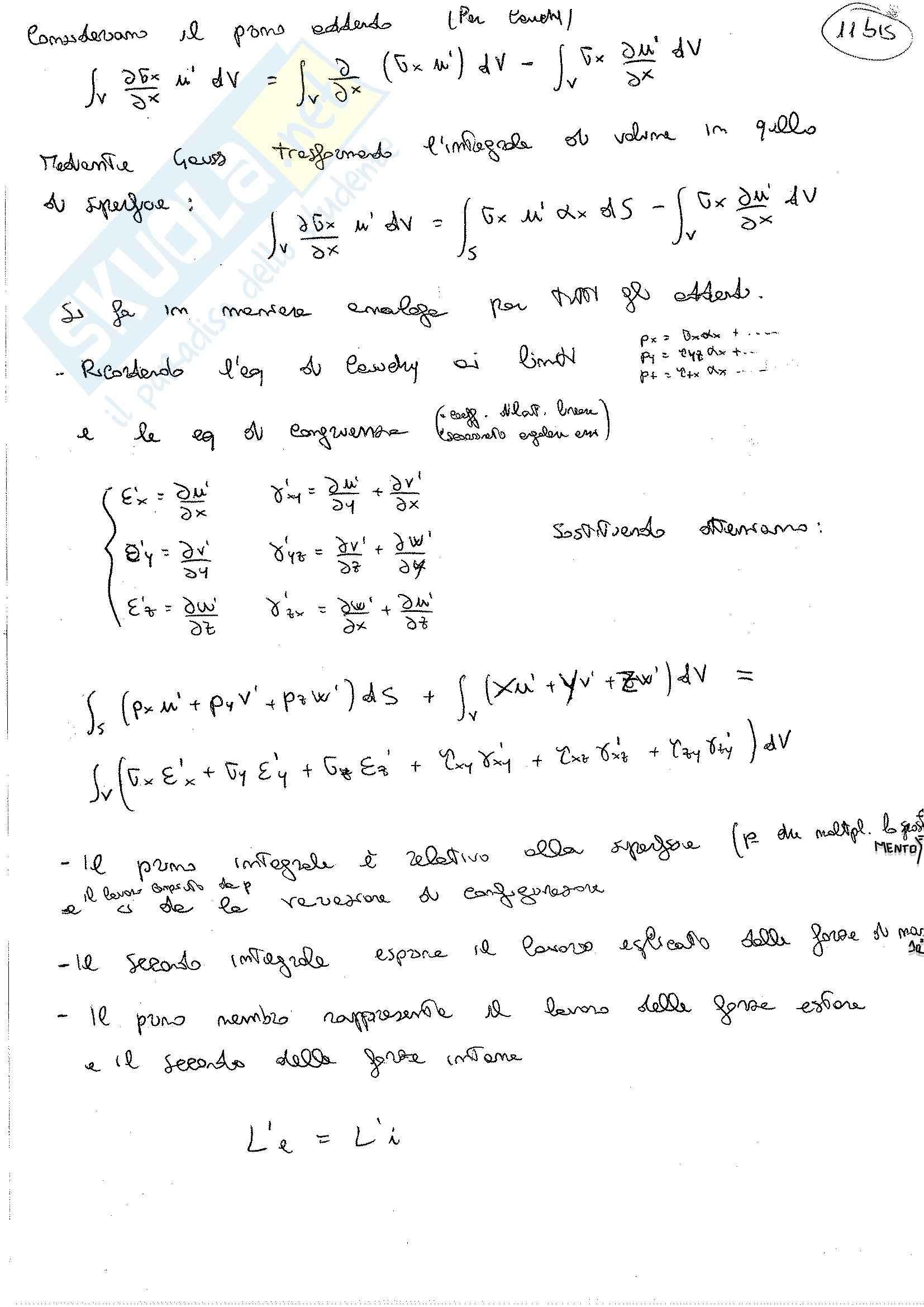 Lezioni, Scienza delle costruzioni Pag. 21