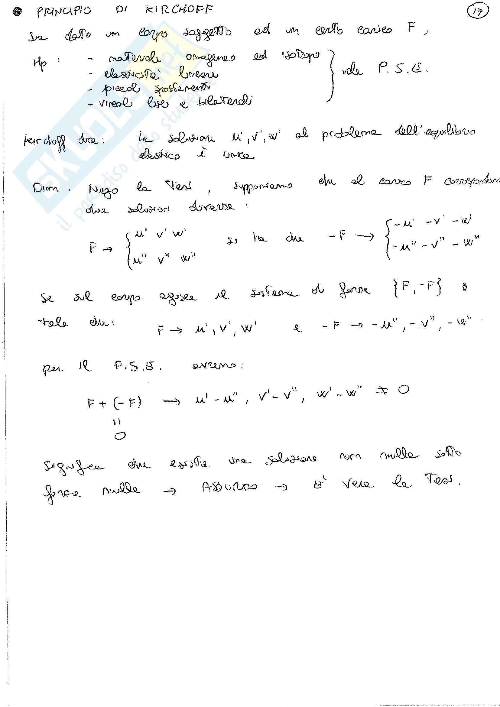 Lezioni, Scienza delle costruzioni Pag. 31