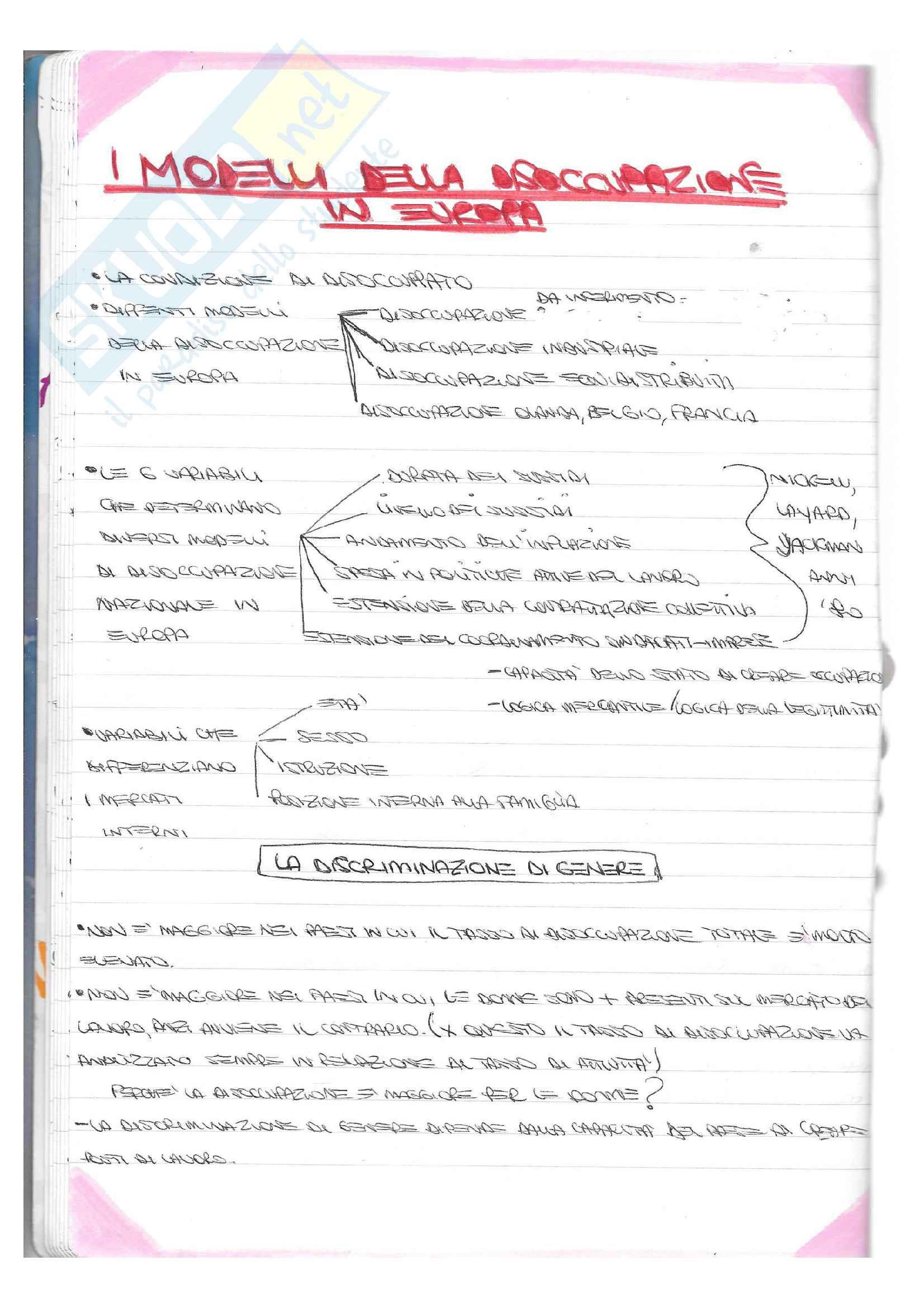 Appunti Sociologia del lavoro Pag. 11