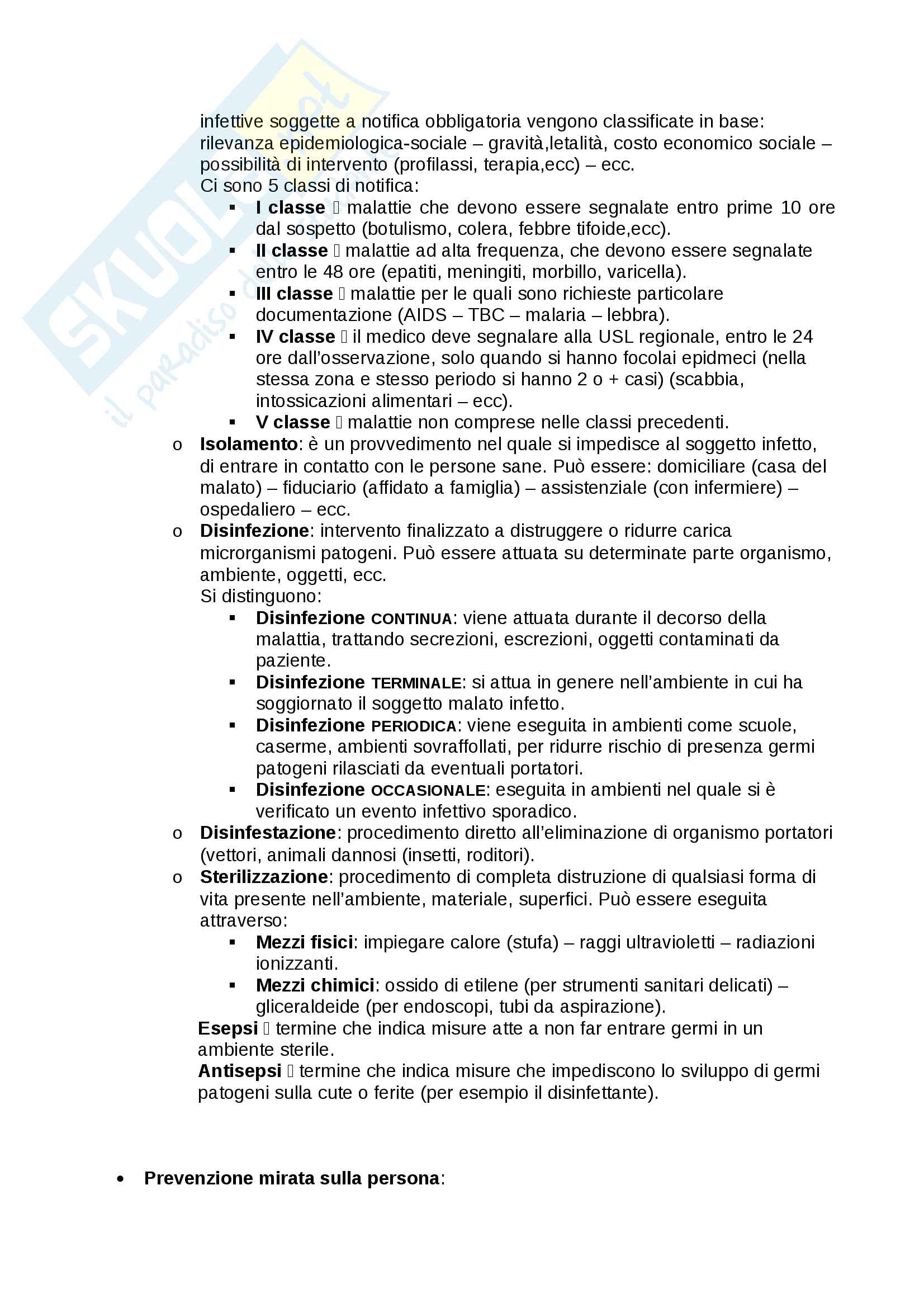 Igiene generale e applicata Pag. 26