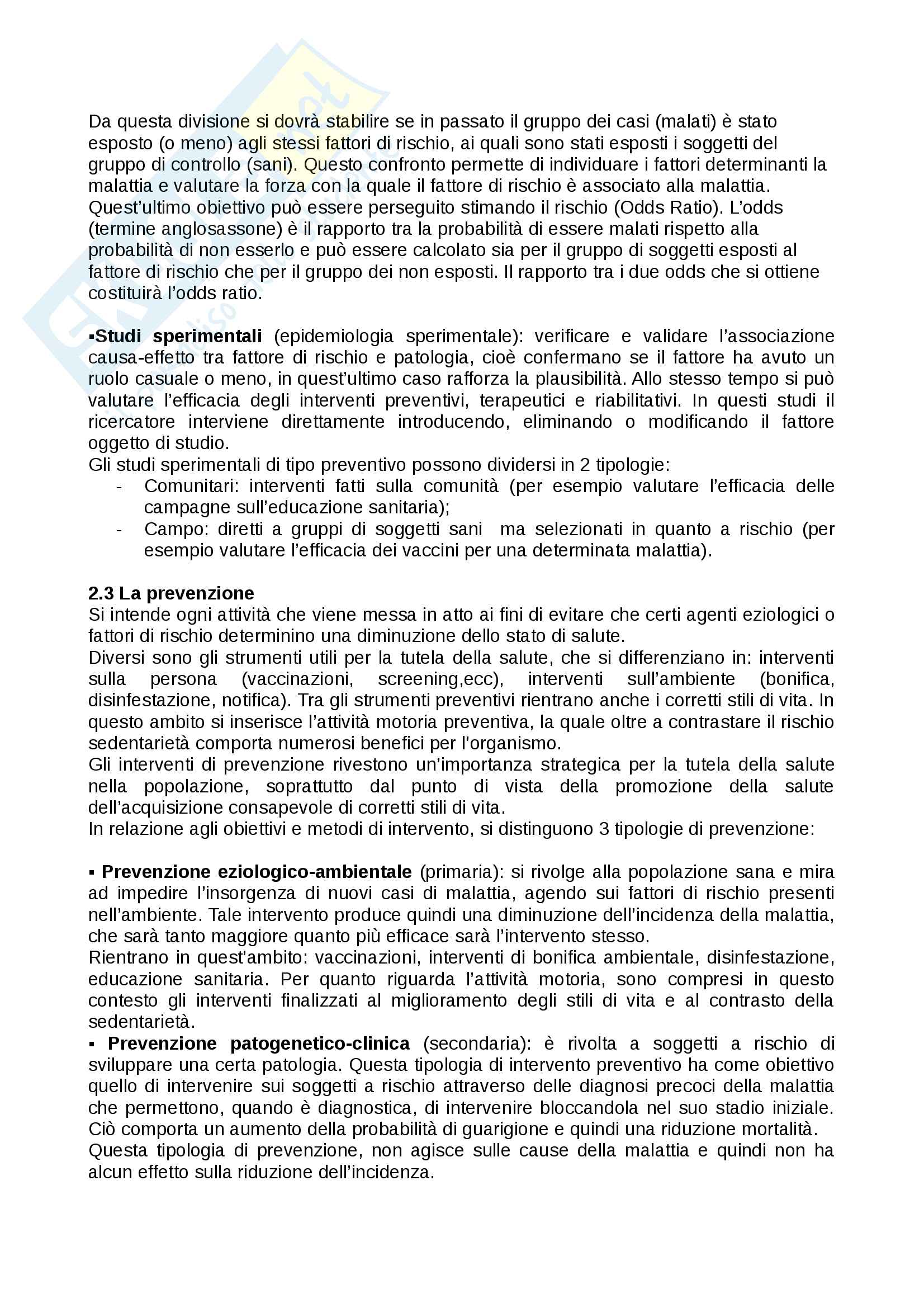 Igiene generale e applicata Pag. 6