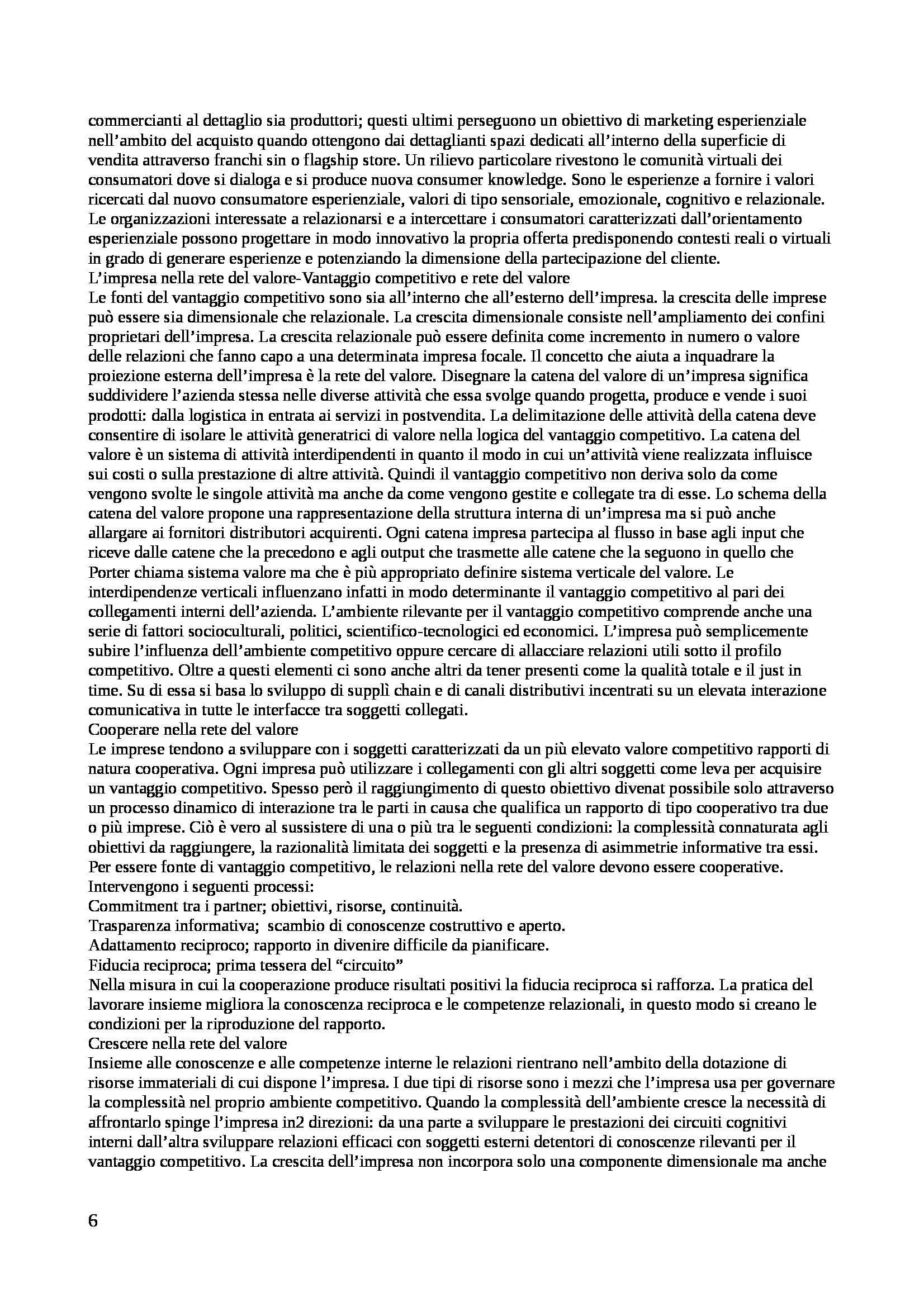Riassunto esame Gestione delle Imprese, prof. Pagano, libro consigliato Economia e Management delle Imprese, Di Bernardo, Gandolfi Pag. 6