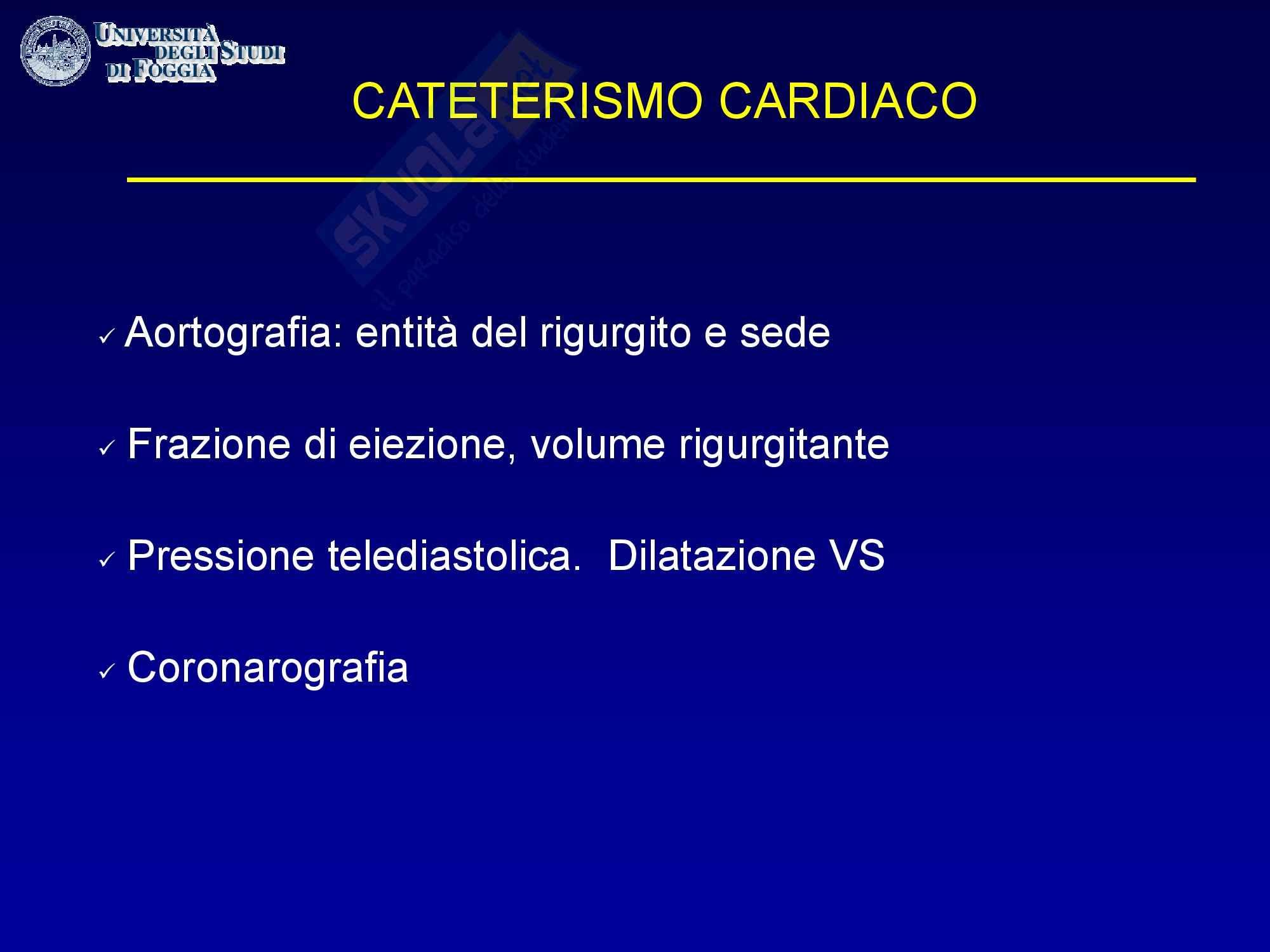 Cardiologia - il cateterismo cardiaco