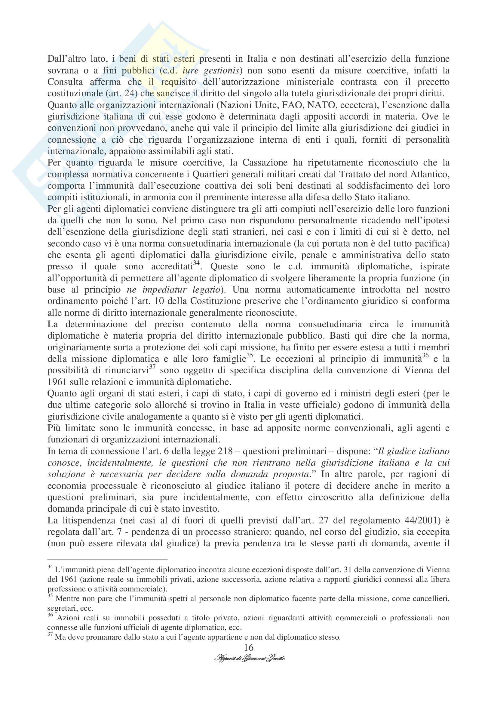 Diritto Internazionale Privato Pag. 16